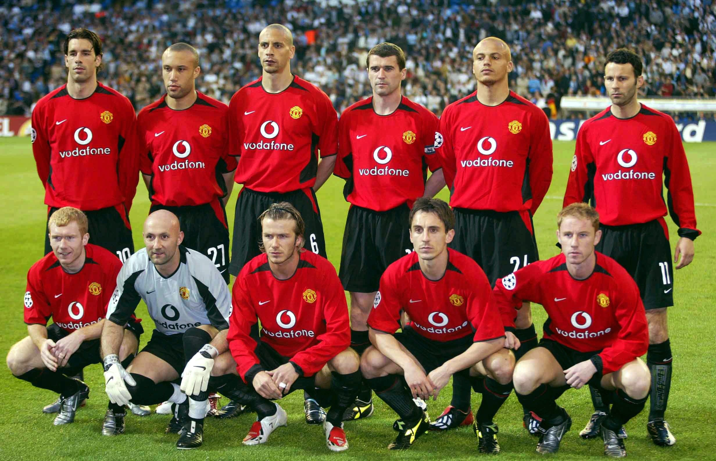 Fussball: Champions League 02/03 Real Madrid - Manchester United