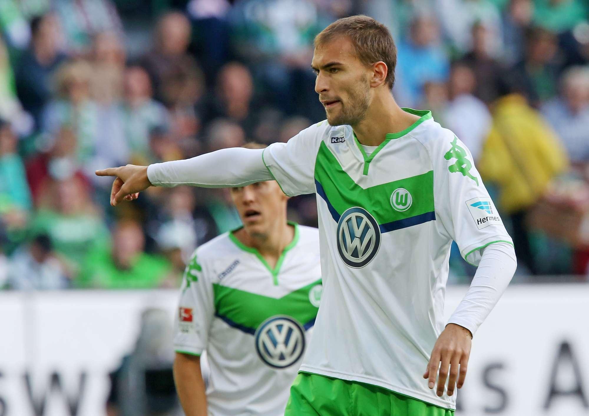 Bas Dost, attaccante del Wolfsburg