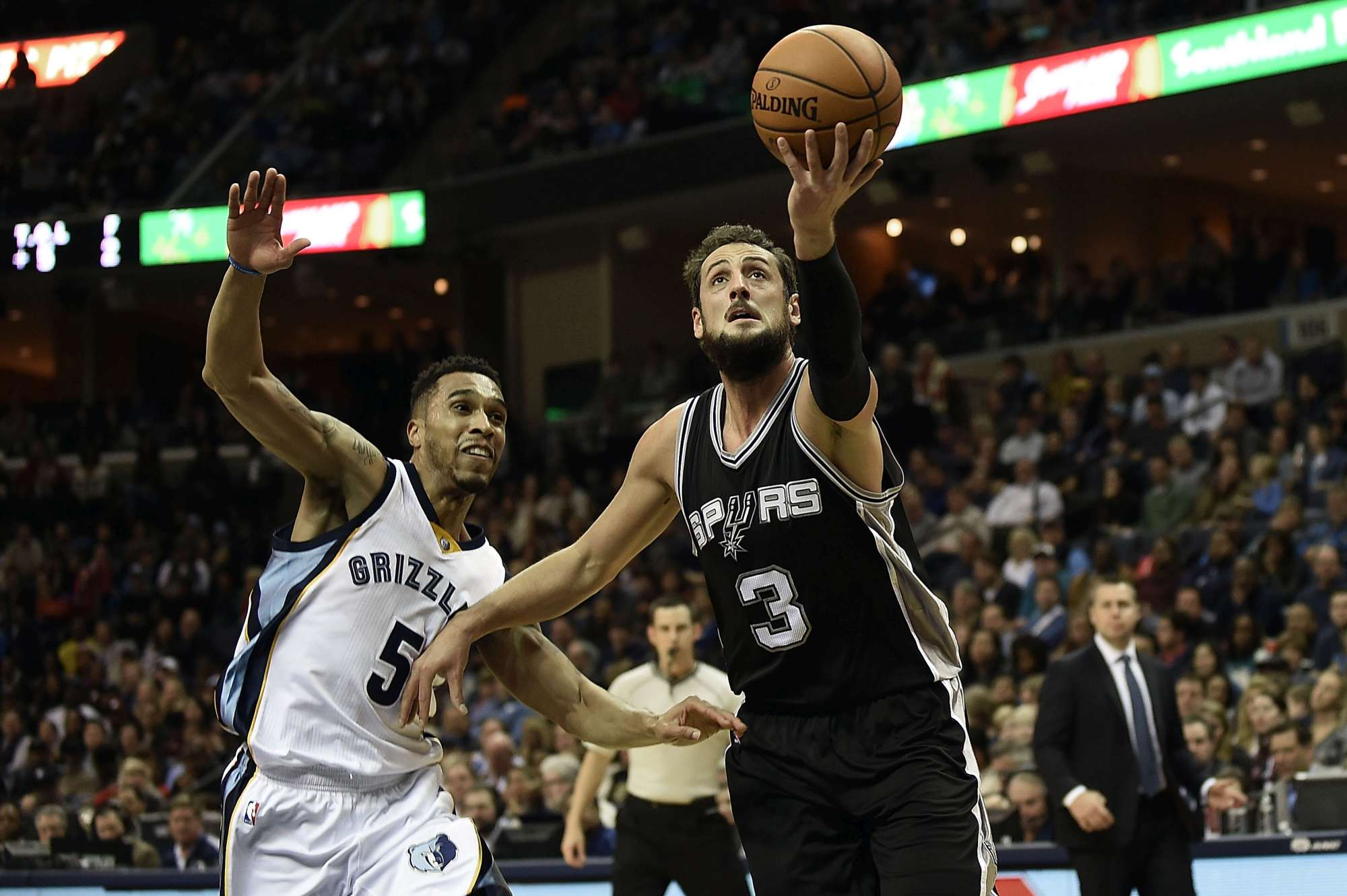 Marco Belinelli, agli Spurs nelle due precedenti stagioni