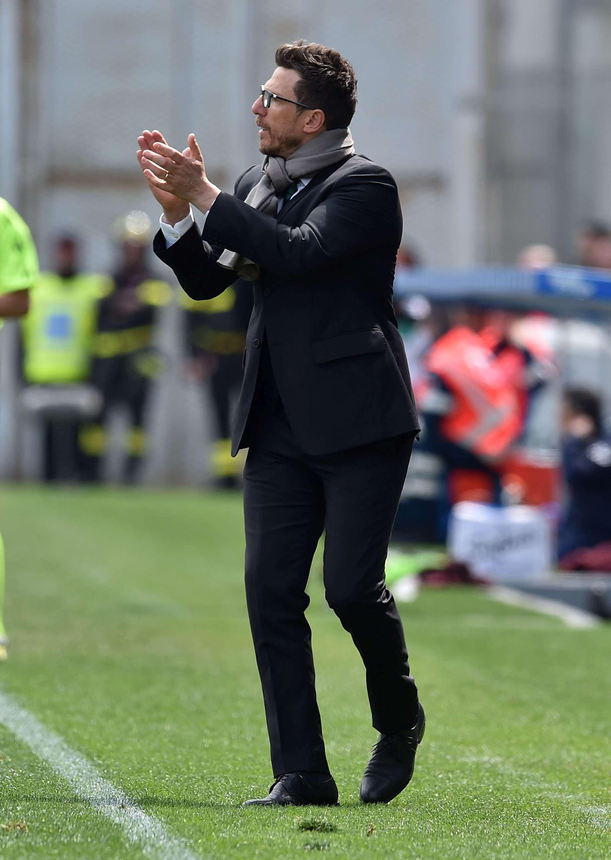 Per Di Francesco sono 3 le vittorie contro i rossoneri in 5 partite