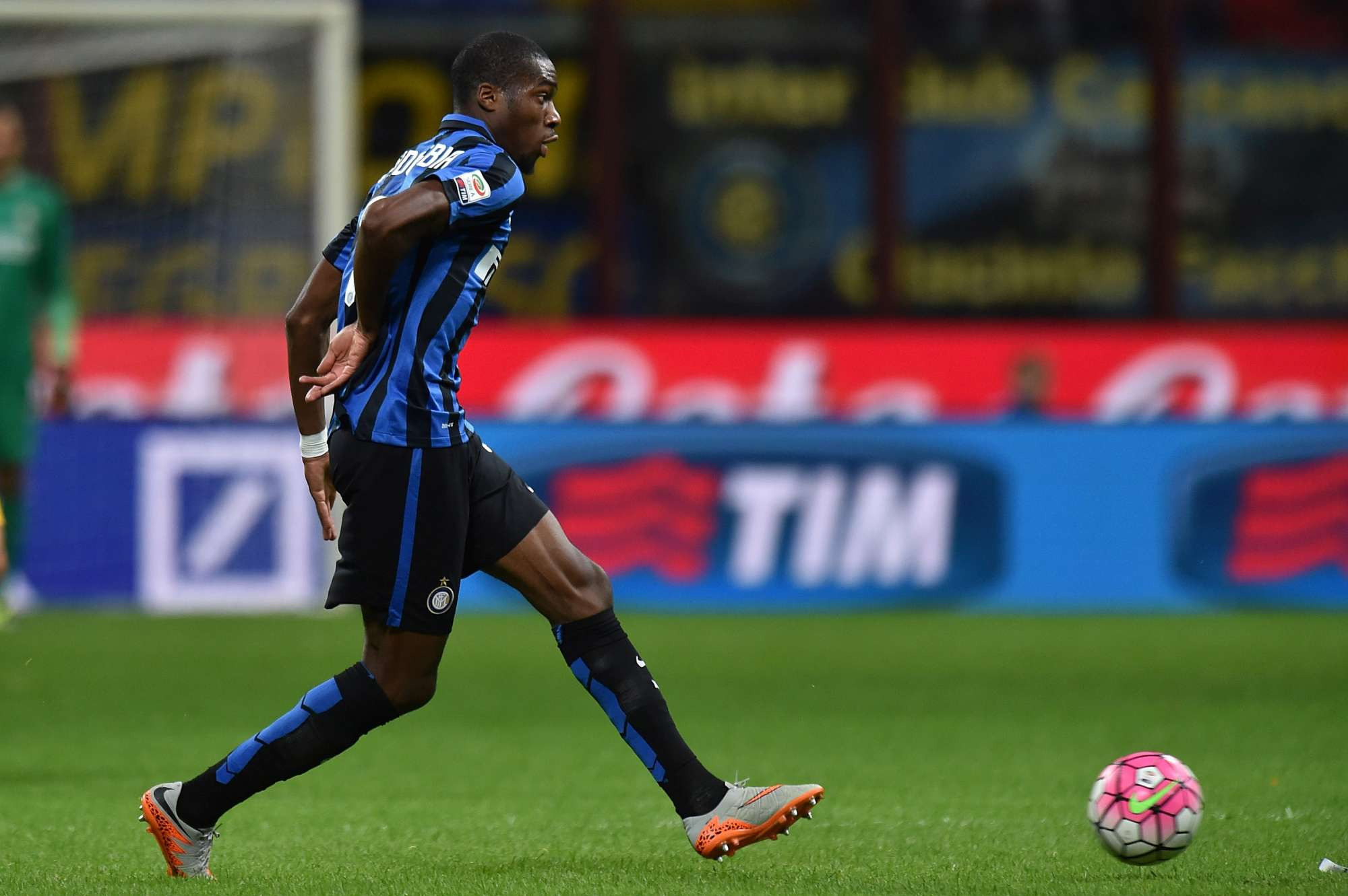 Geoffrey Kondogbia, acquisto di punta dell'Inter in estate