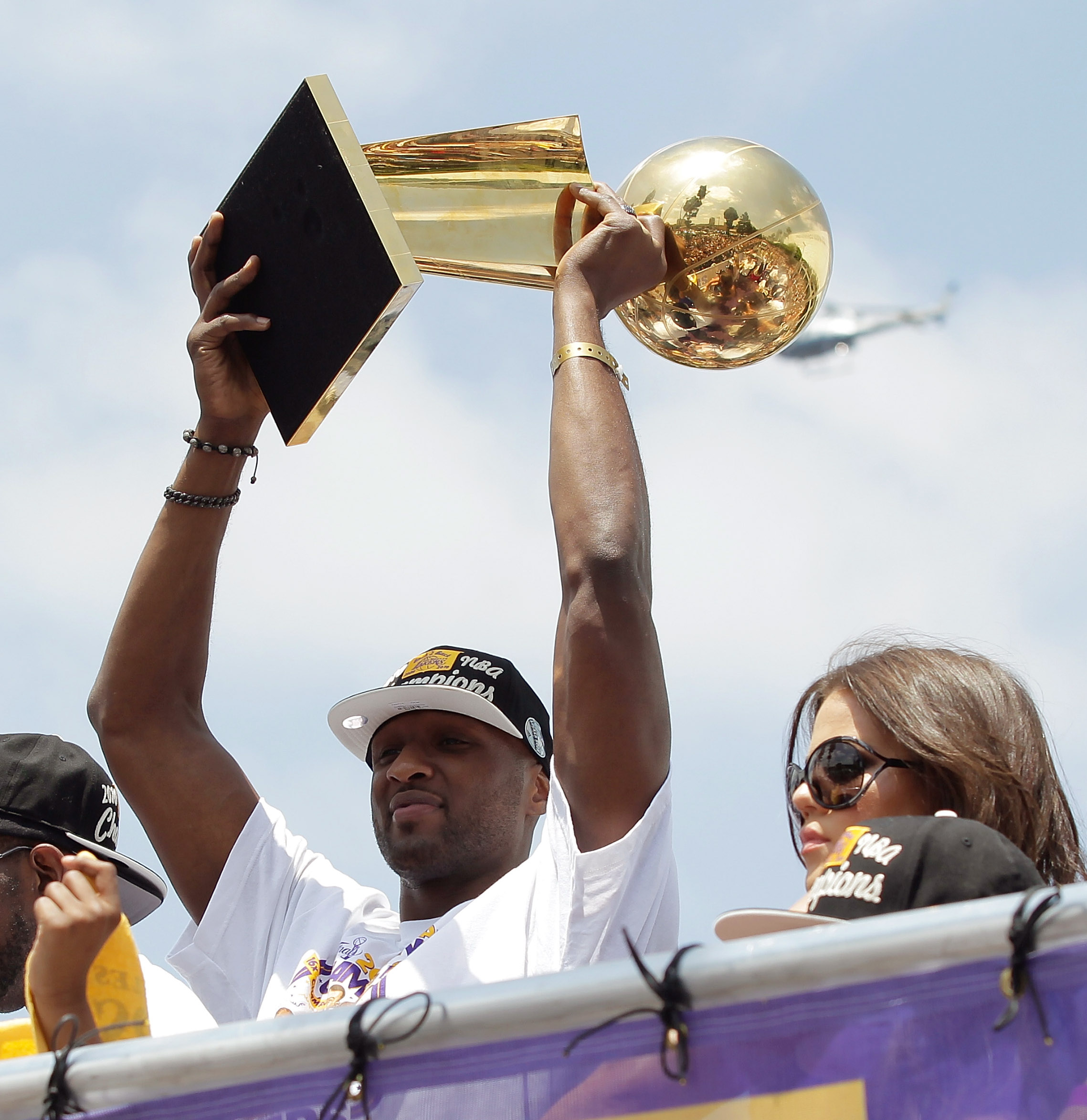 Odom campione Nba con i Lakers