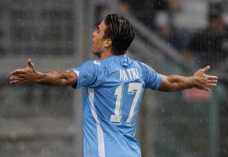 Alessandro Matri, 5 presenze e 2 gol quest'anno con la Lazio