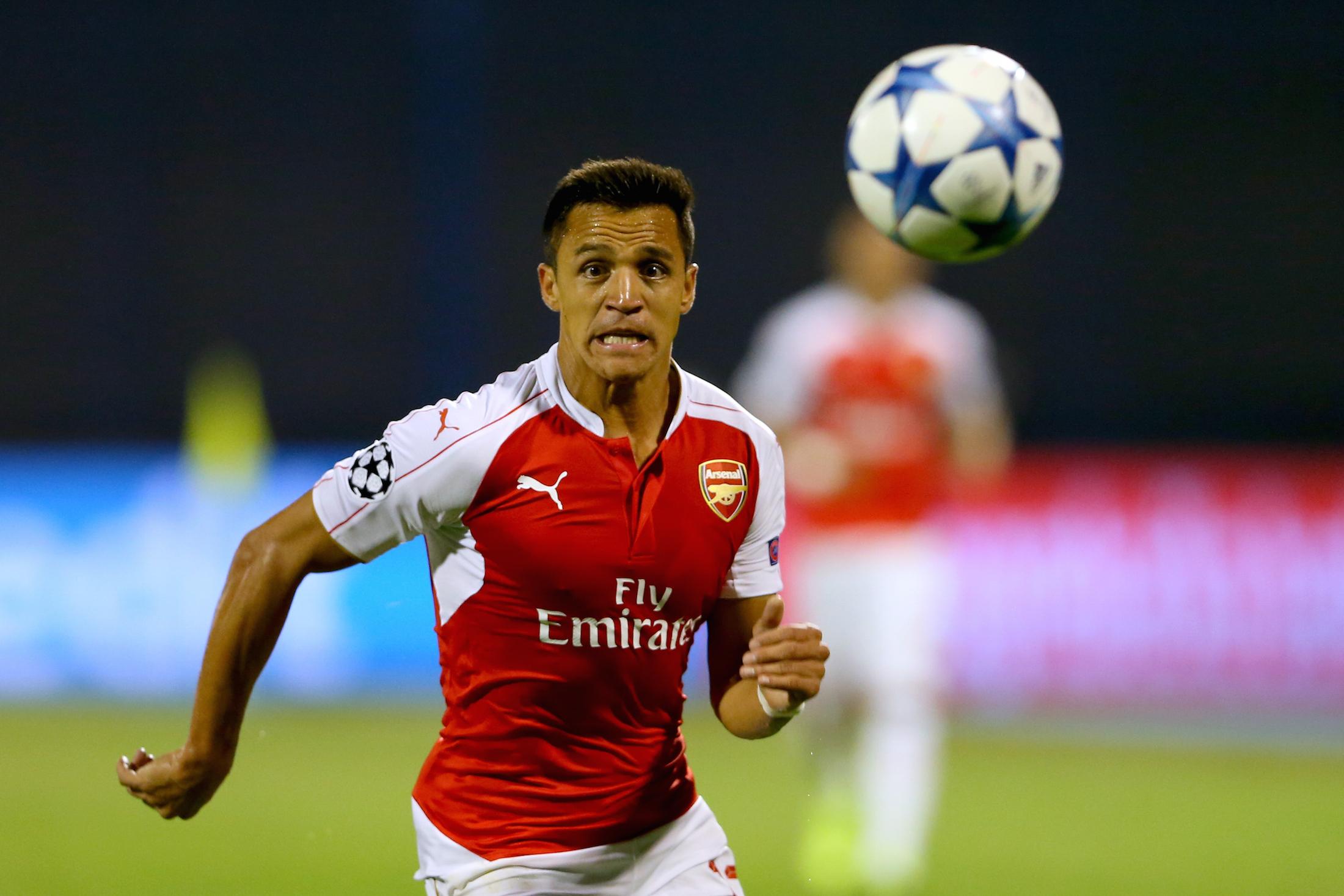 Alexis Sanchez, 12 reti in questa stagione