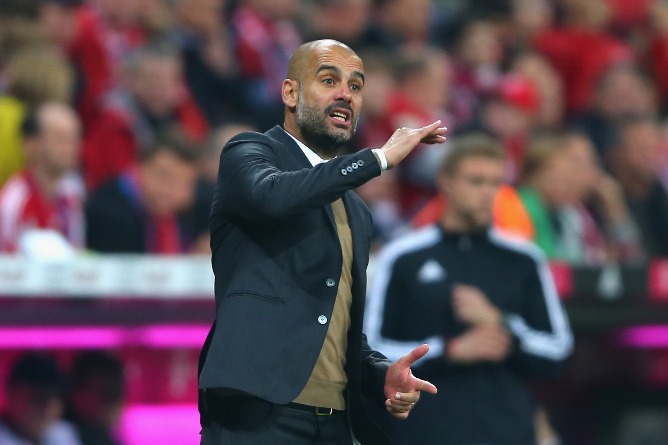 Pep Guardiola mira alla Champions League prima di andare al City