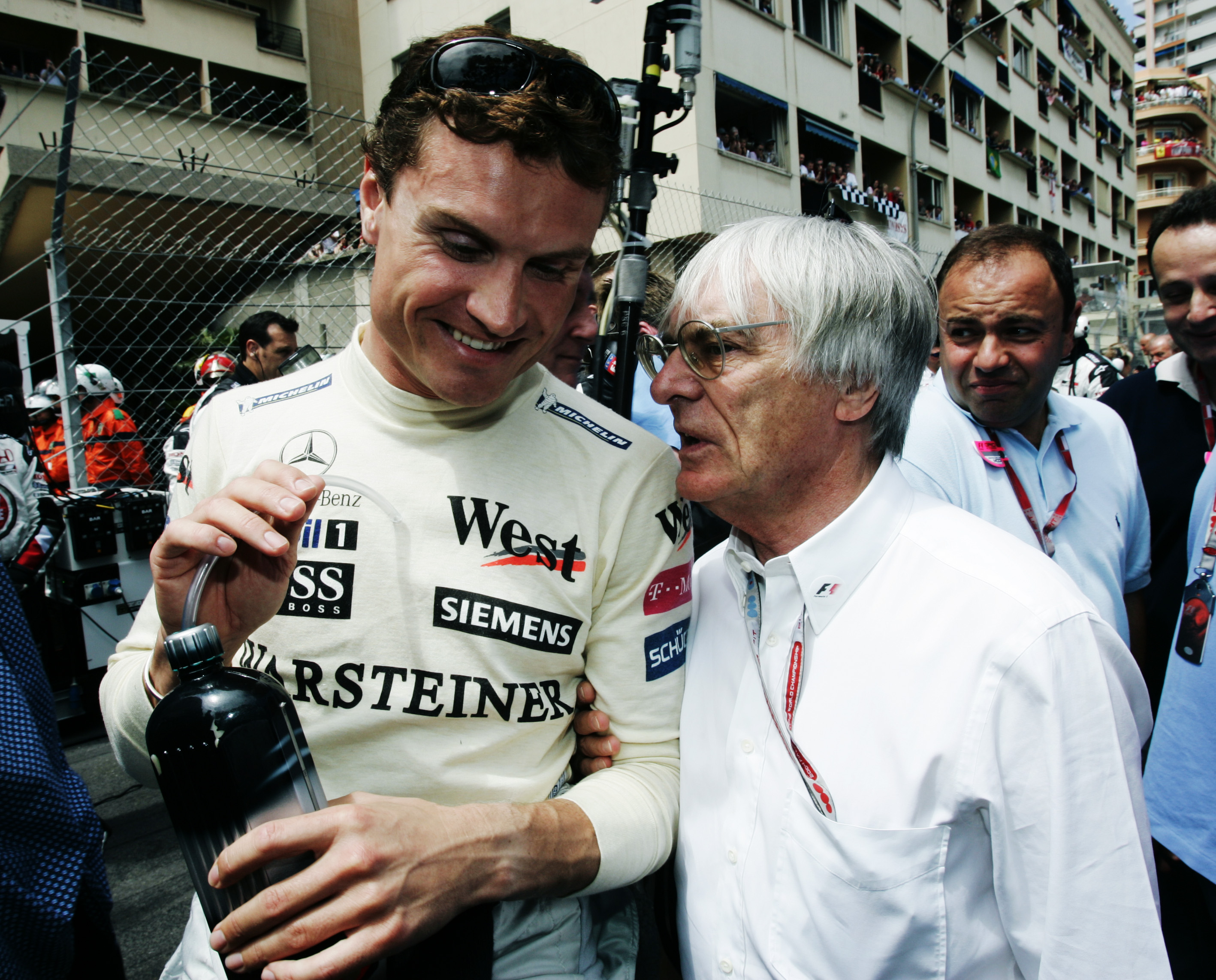 "David Coulthard in ""quando la McLaren andava forte"""