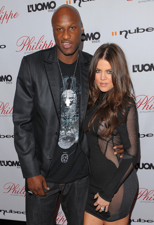 Con Khloé Kardashian, con cui è stato sposato dal 2009 al 2015