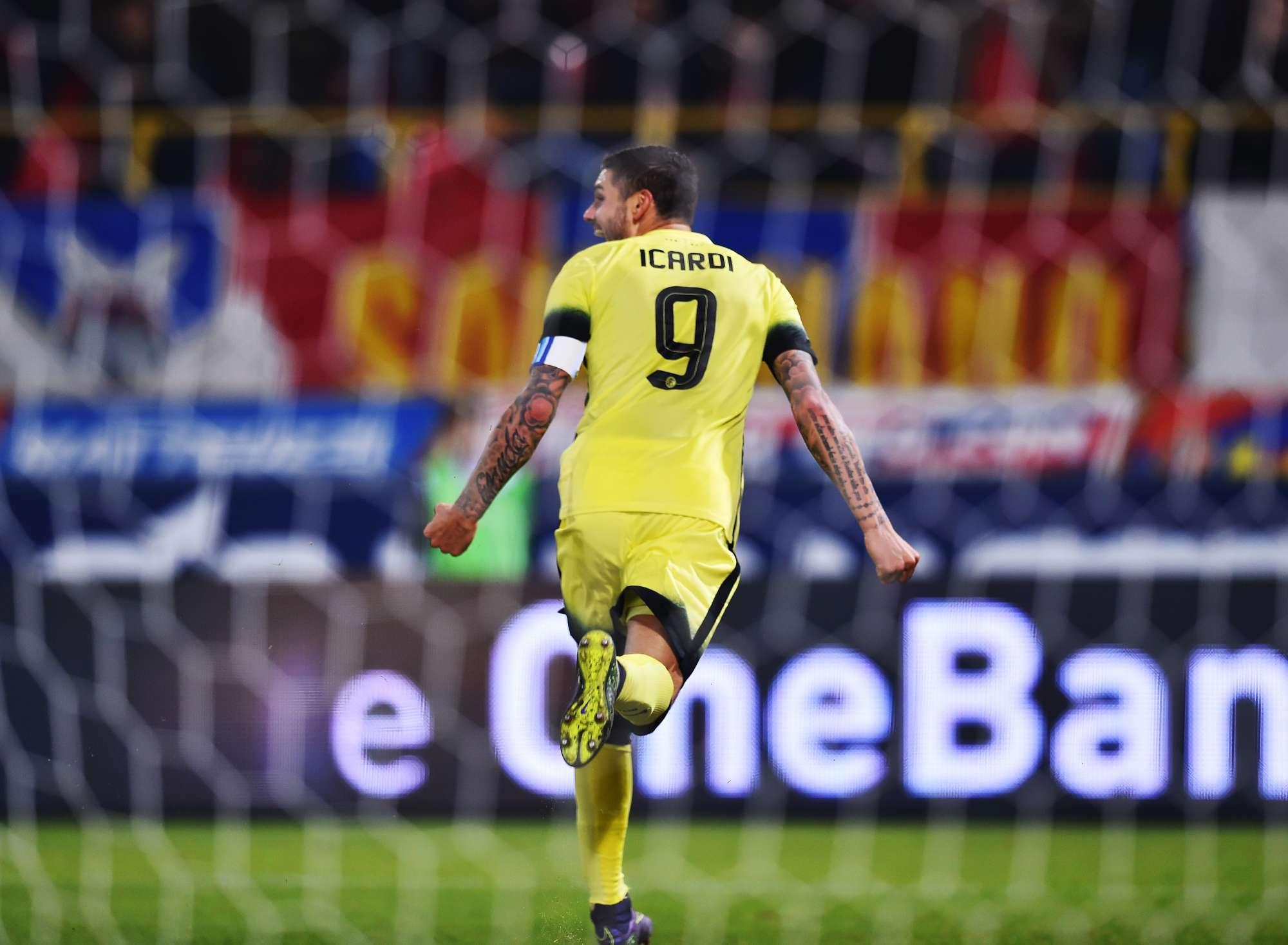 Icardi ha chiuso il campionato con 16 gol