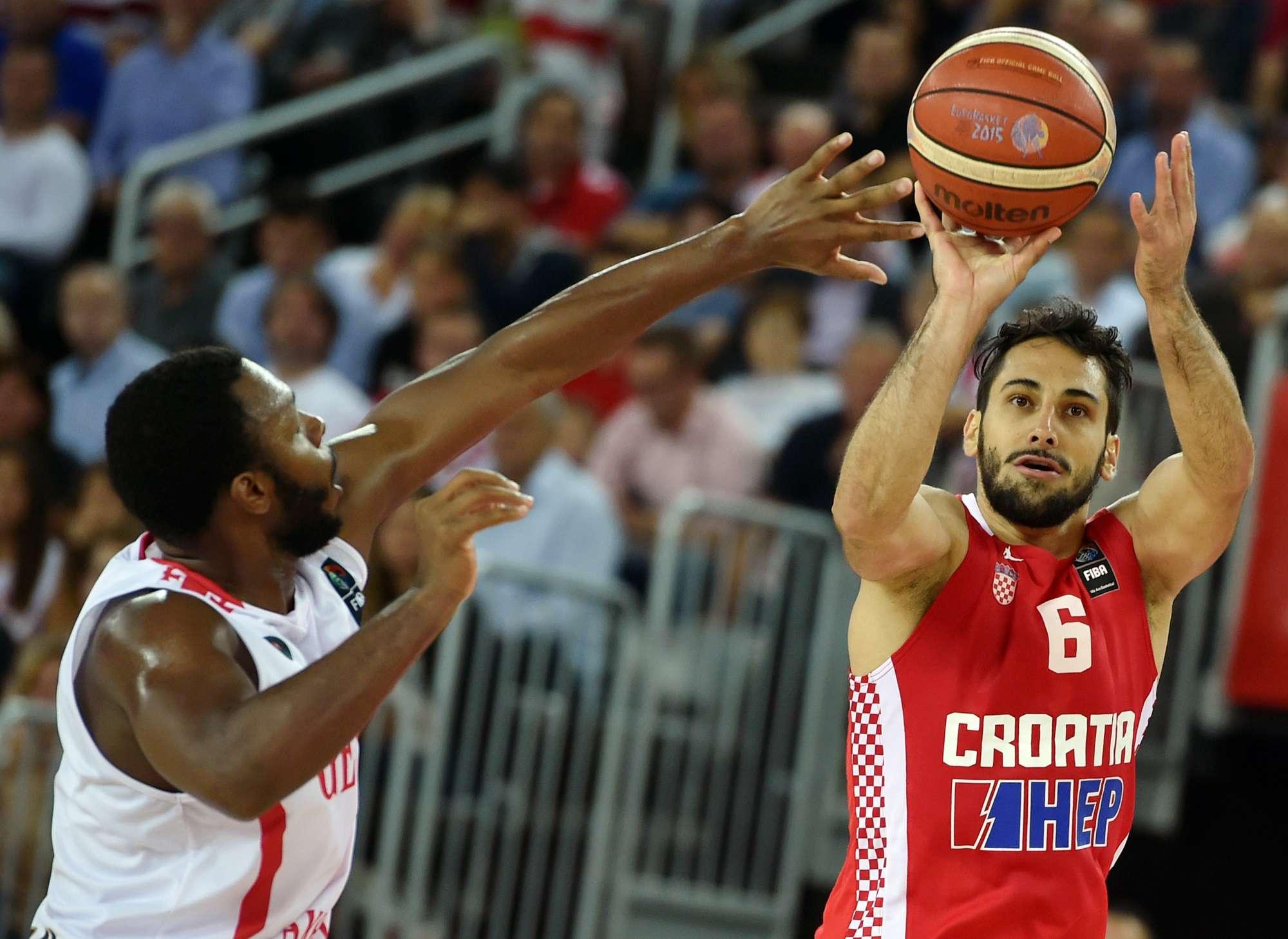 Rok Stipcecvic, con la Croazia agli ultimi Europei