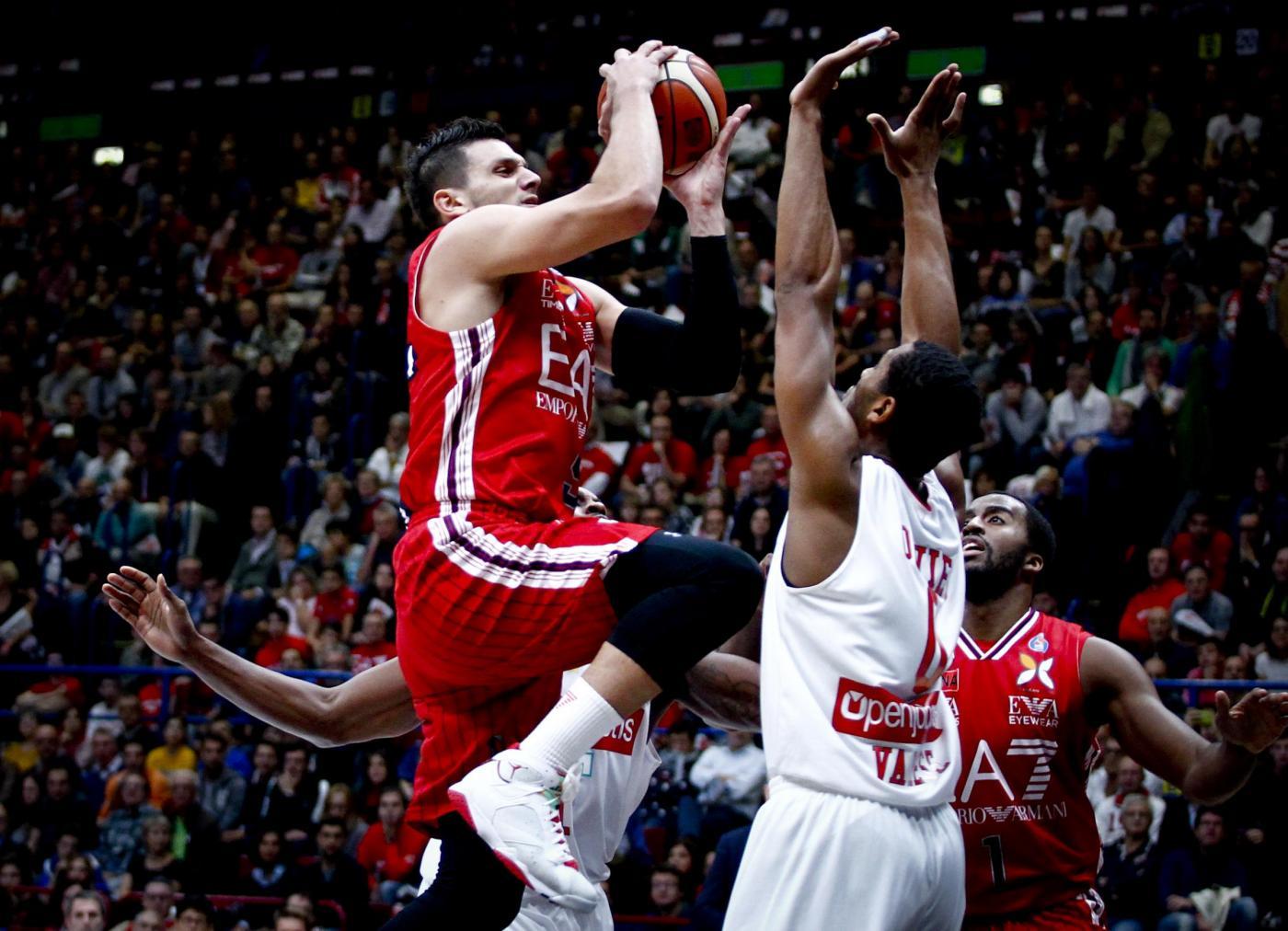 Olimpia Armani Milano vs Openjobmetis Varese - Basket 2015/2016