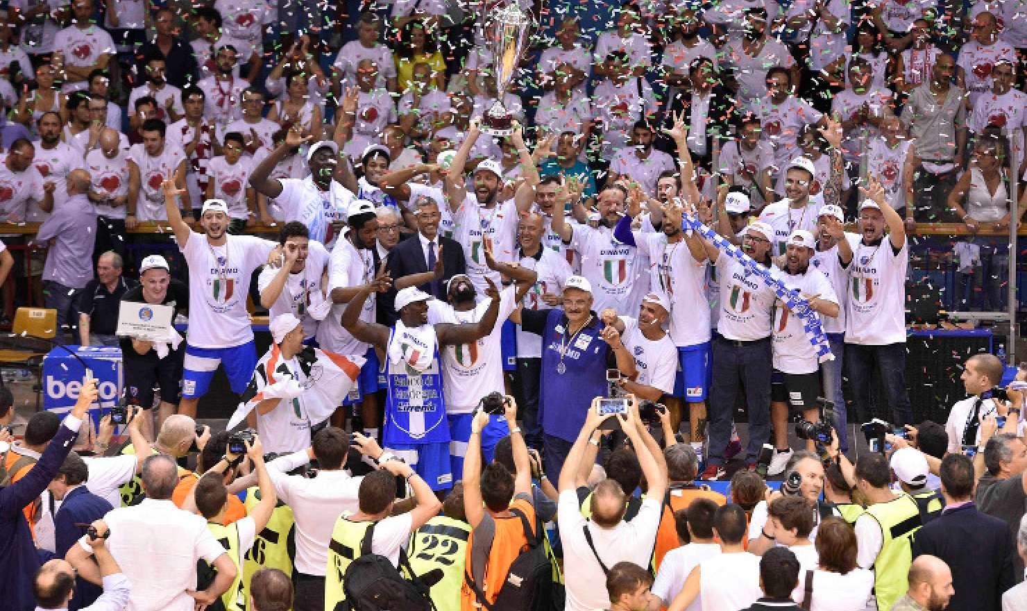 Sassari festeggia lo scudetto 2014/15