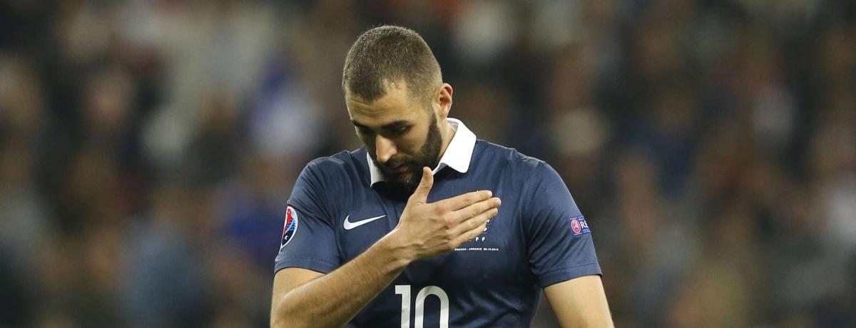 Karim Benzema, momentaneamente fuori dalla selezione francese