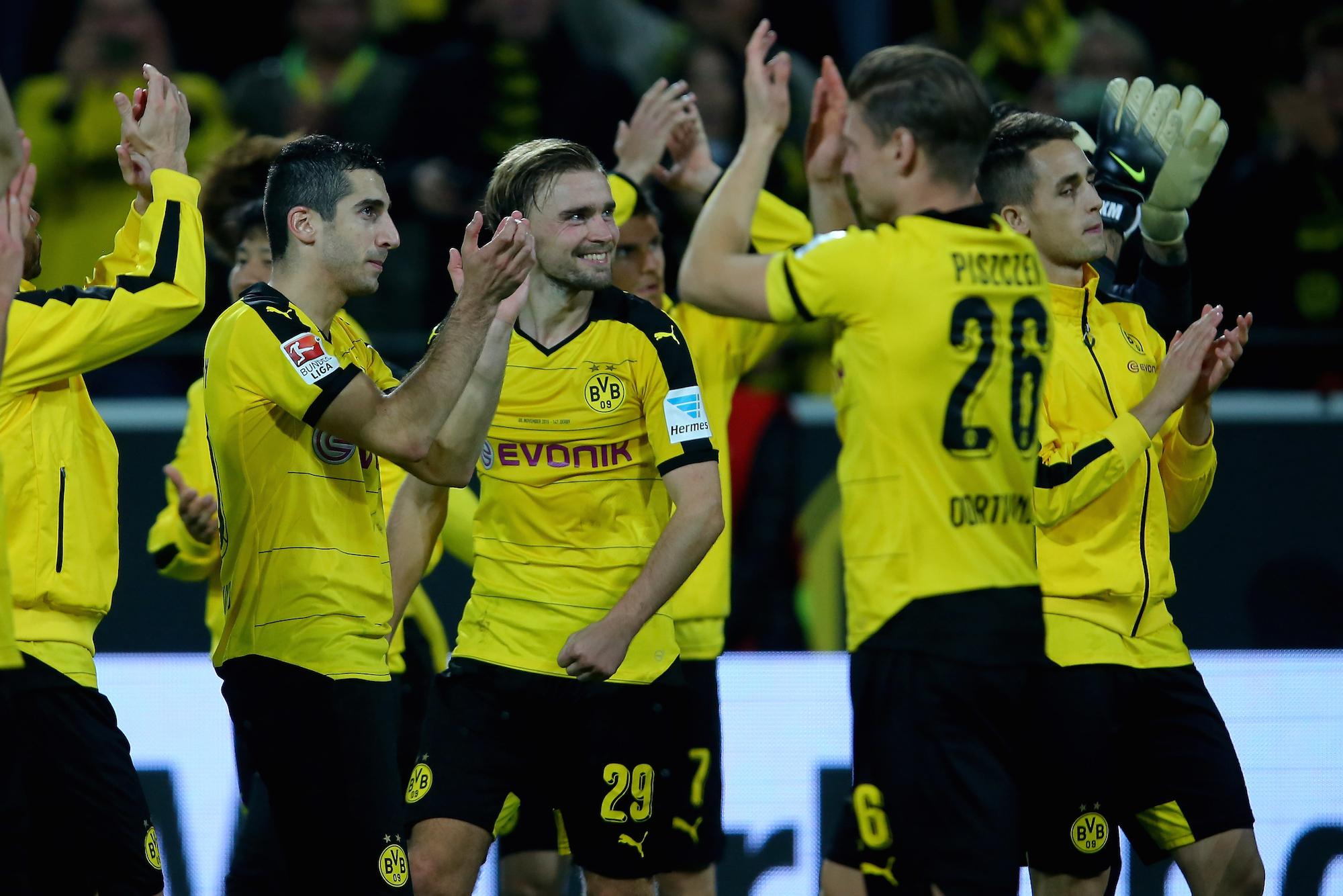 Il Borussia ha vinto 6 delle ultime 7 partite giocate ed è in grande forma