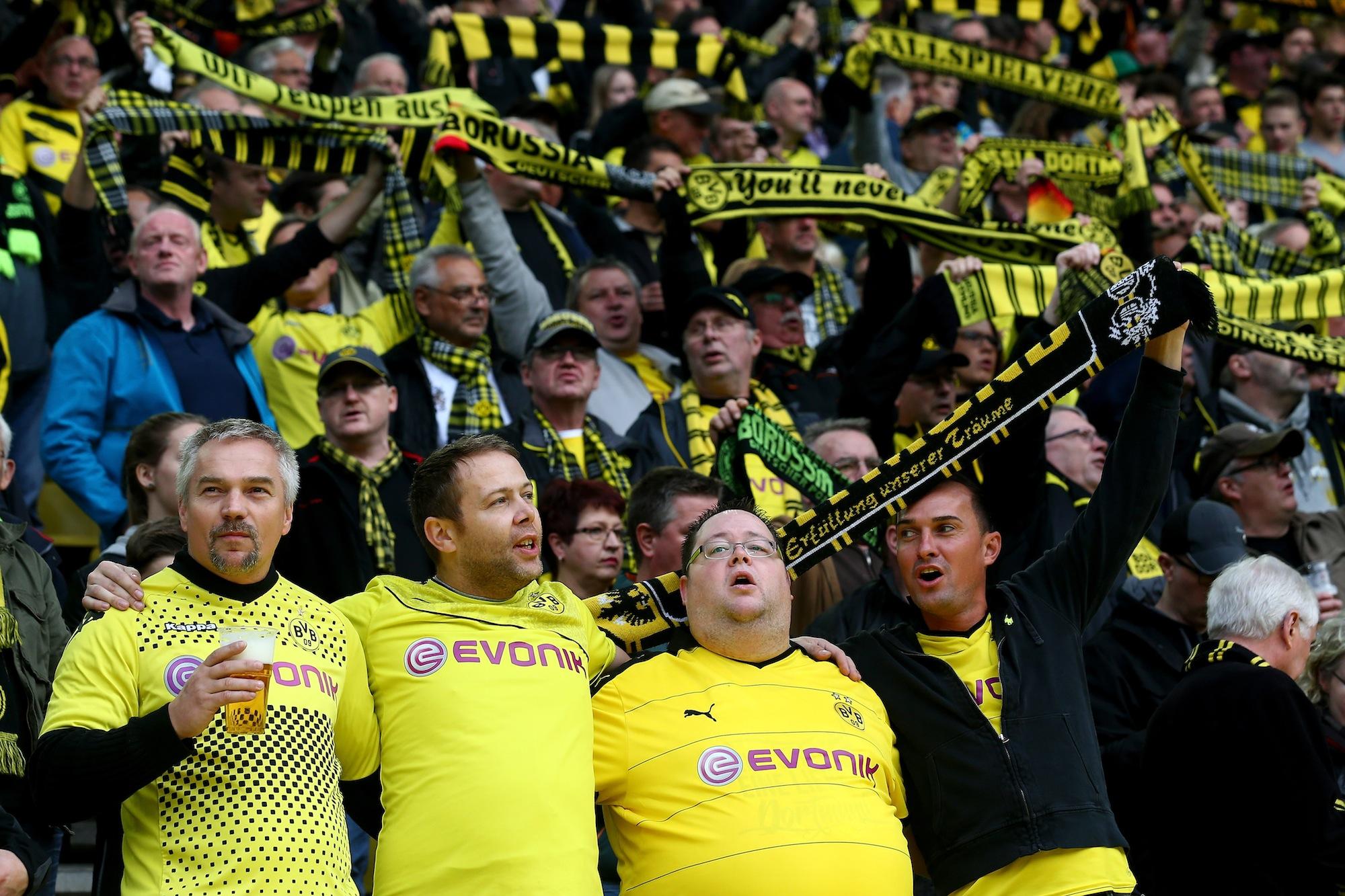 I tifosi del Borussia Dortmundo possono essere soddisfatti del cammino tenuto fin qui dalla loro squadra