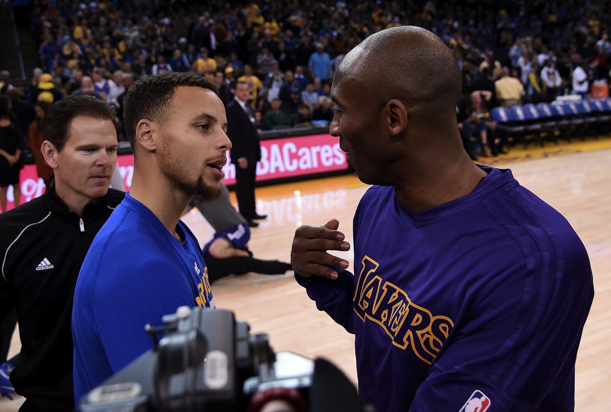 Steph Curry e Kobe Bryant, un virtuale passaggio di consegne?