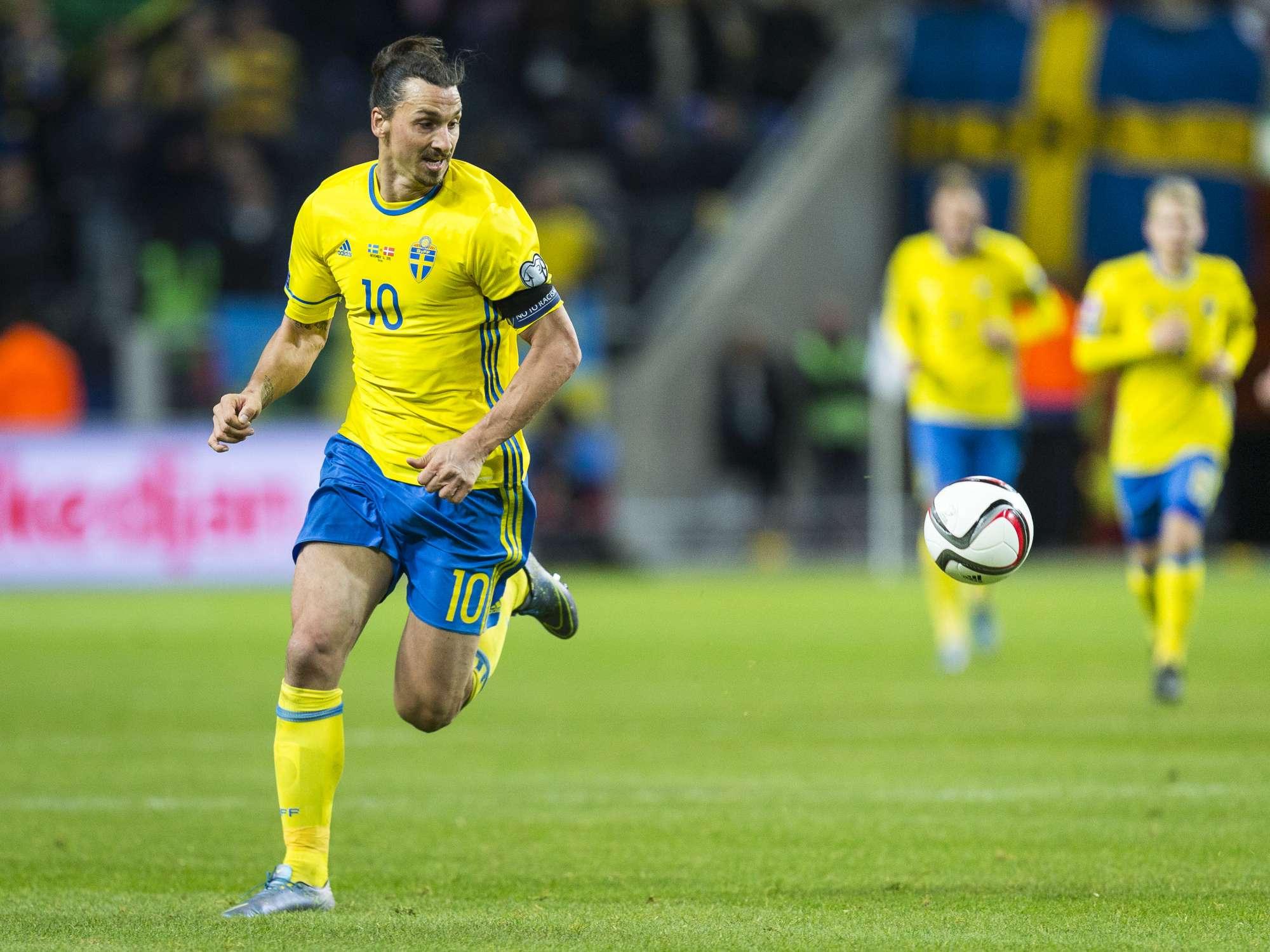 Ibrahimovic, leader della Svezia, ha dichiarato recentemente che al termine della prossima estate potrebbe ritirarsi