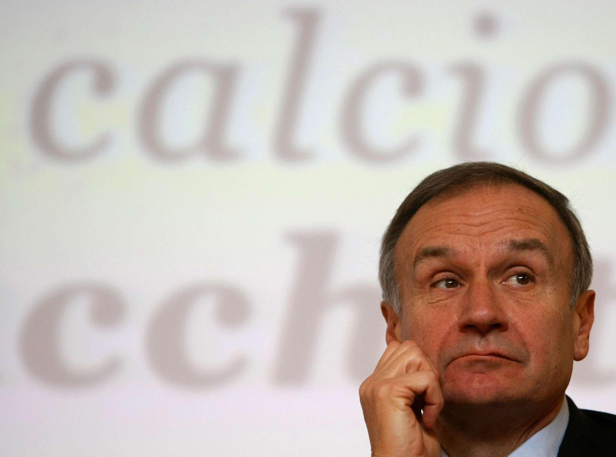 Giannni Petrucci, presidente della FIP