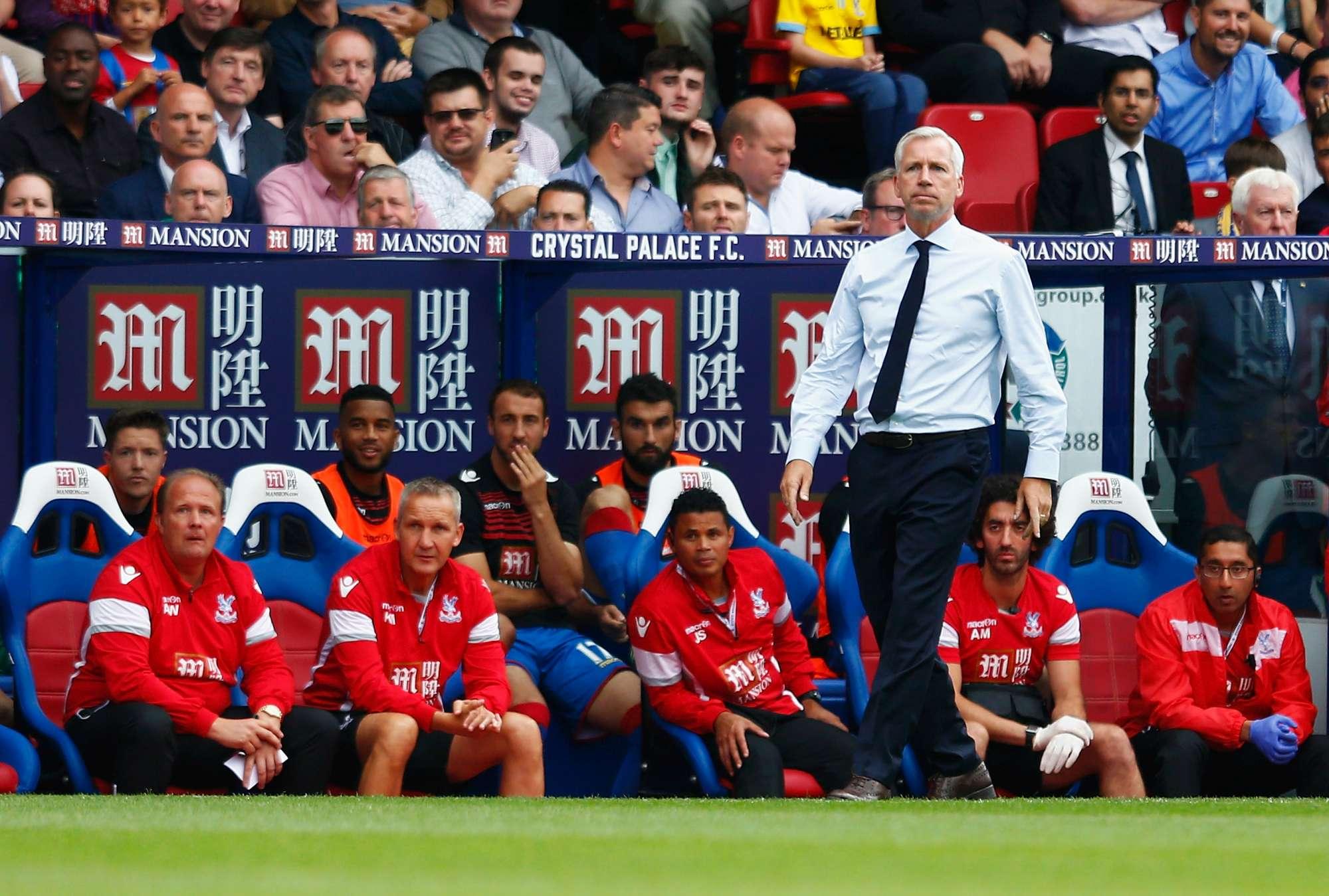 Alan Pardew, tecnico del Crystal Palace