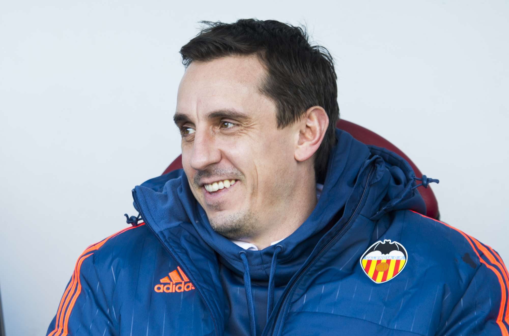 Gary Neville, tecnico del Valencia dallo scorso 2 dicembre