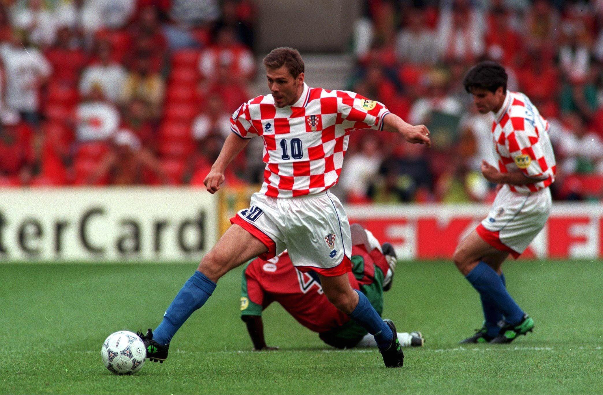 FUSSBALL: NATIONALMANNSCHAFT EM 1996 in ENGLAND/ CRO