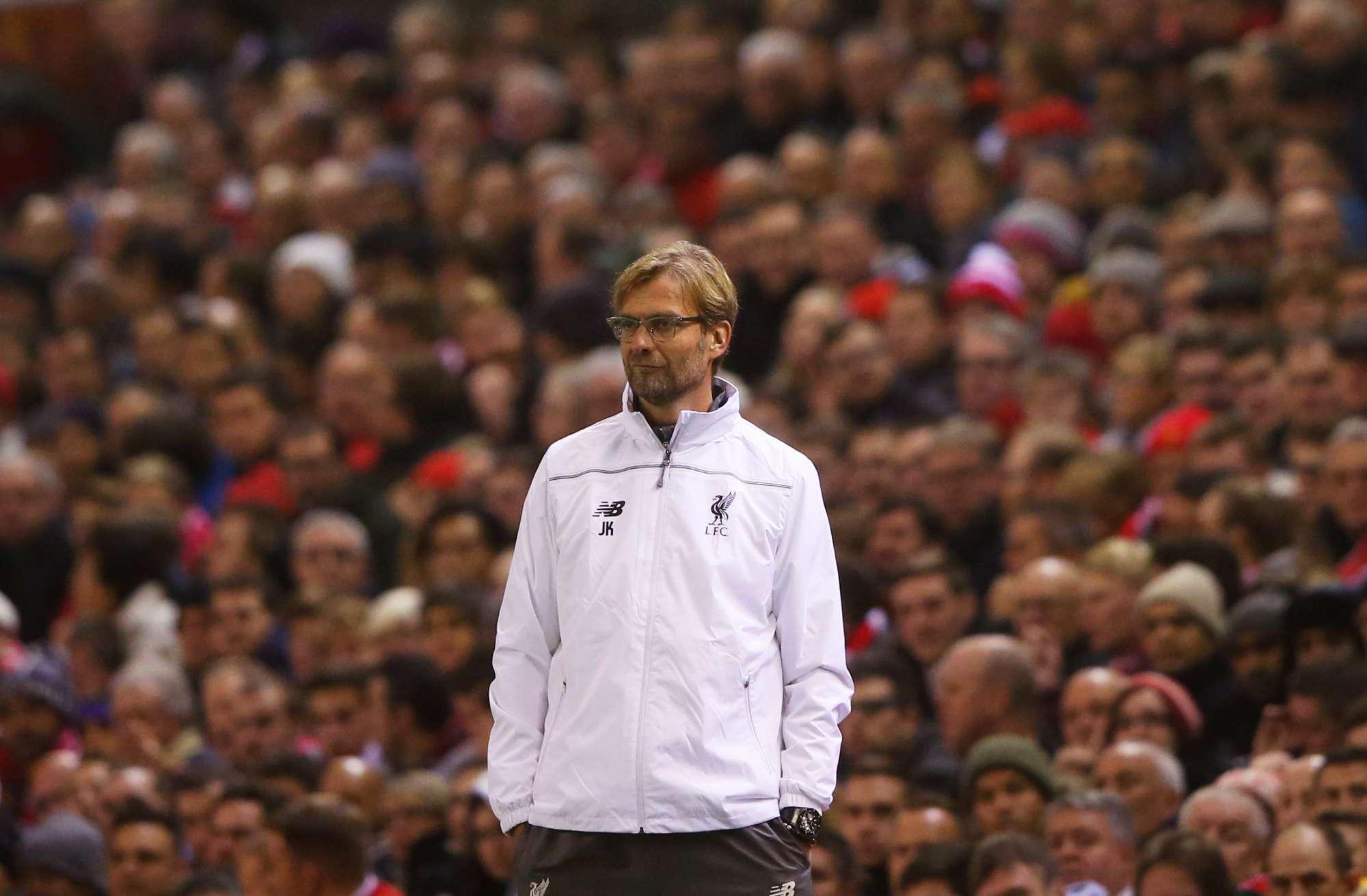 Jurgen Klopp, allenatore del Liverpool dallo scorso ottobre