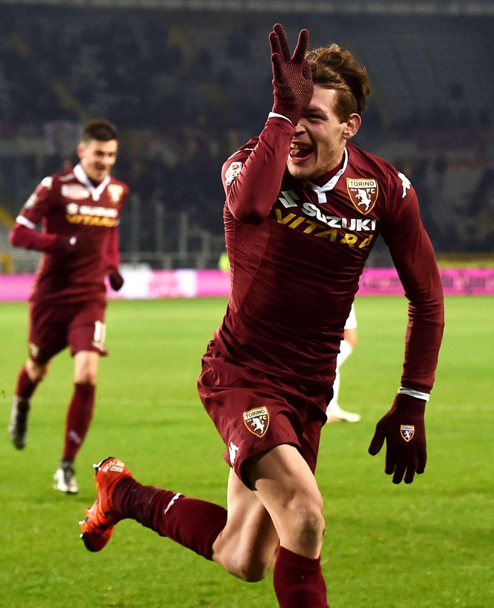 Andrea Belotti, attaccante del Torino che nello scorso weekend si è finalmente sbloccato
