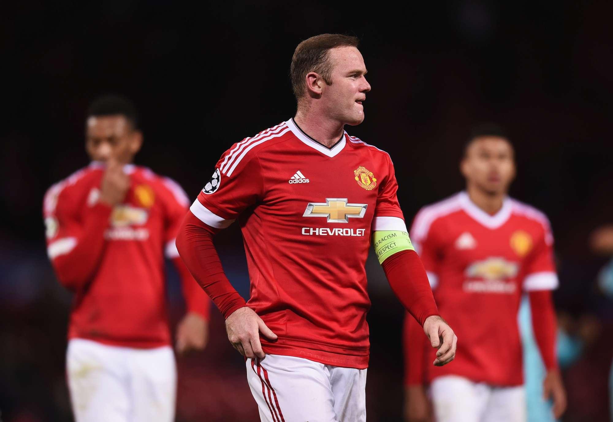 Rooney e il suo Man United rischiano di uscire dalla Champions
