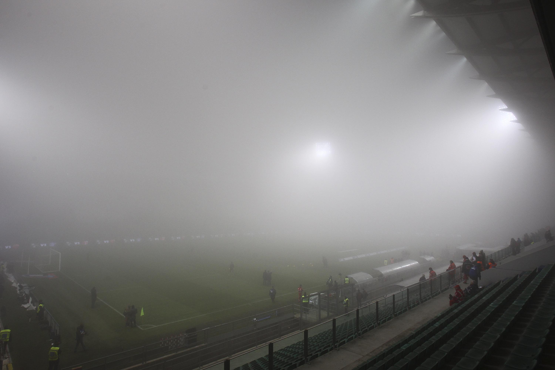 Il Mapei Stadium così come si presentava il 12 dicembre scorso