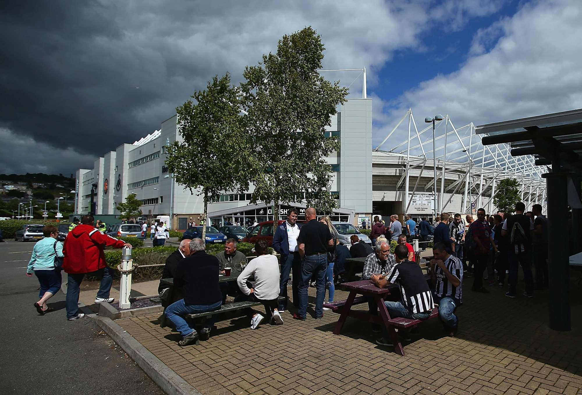 """Il LIberty Stadium, lo stadio che diventerà la nuova """"casa"""" di Francesco Guidolin"""