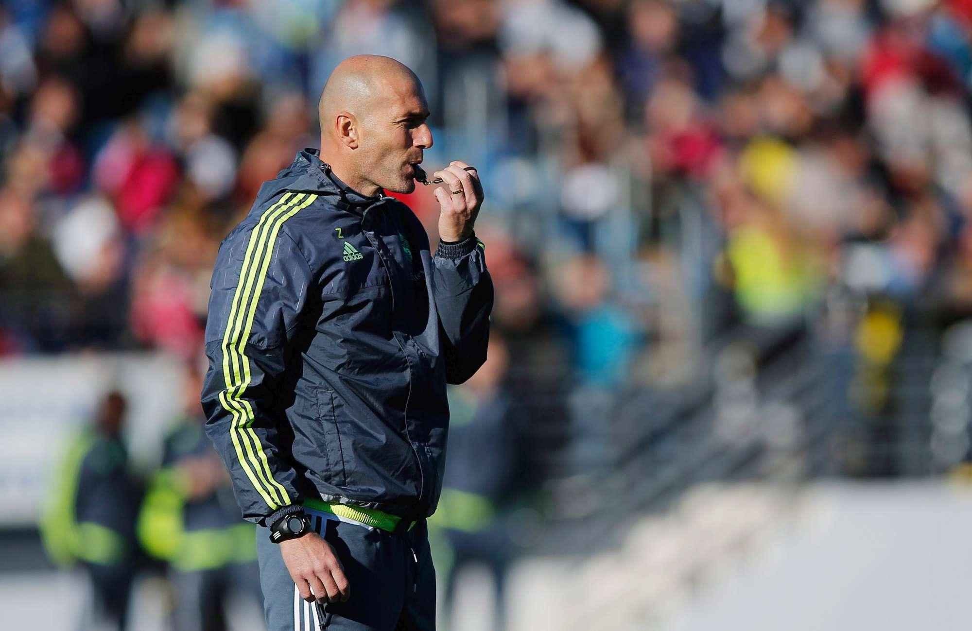 """Zidane """"vede"""" la finale di Champions"""