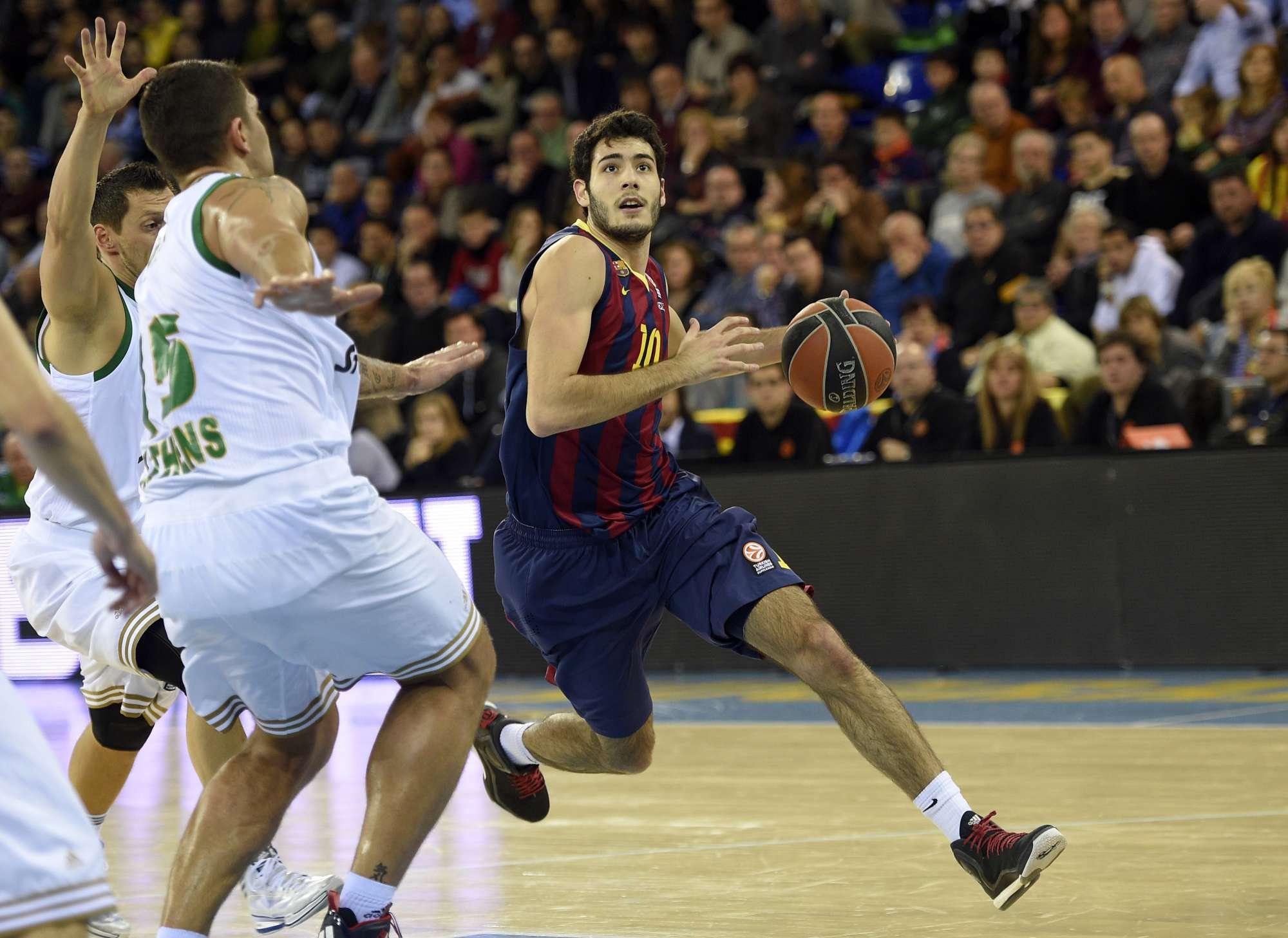 Alex Abrines, uno dei giocatori simbolo di questo Barcellona