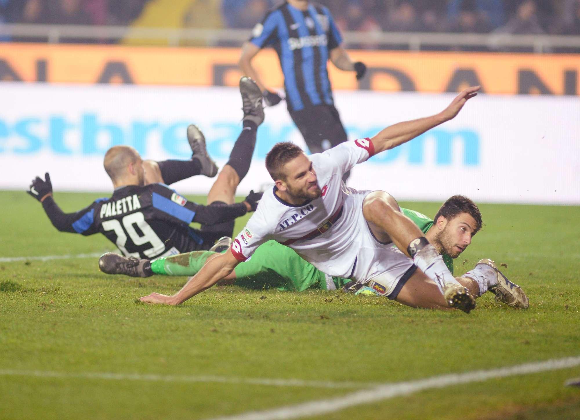 Il gol di Pavoletti ha condannato ieri l'Atalanta alla 4° sconfitta consecutiva
