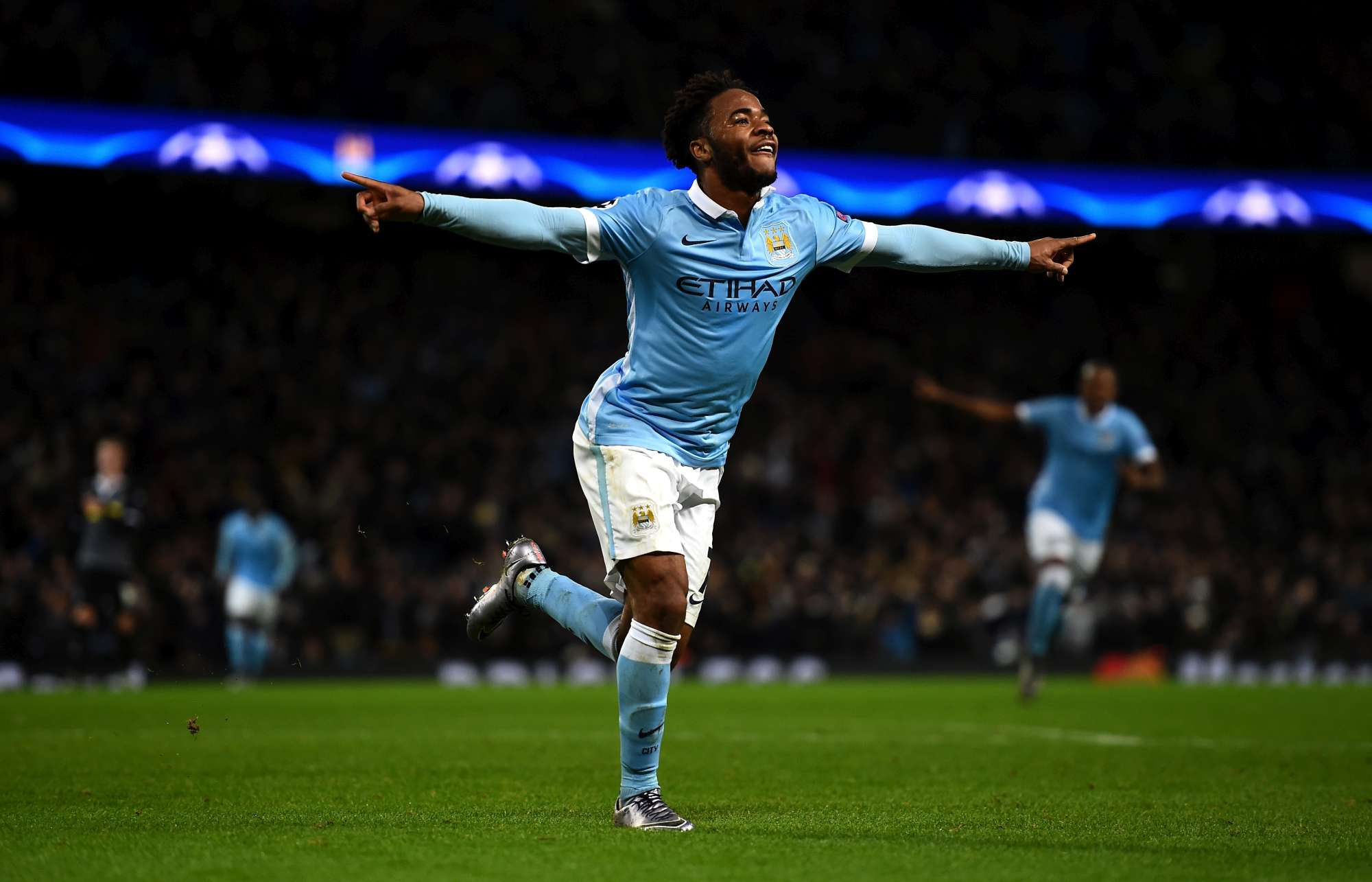 Raheem Sterling, arrivato in estate al City per 68 milioni di euro