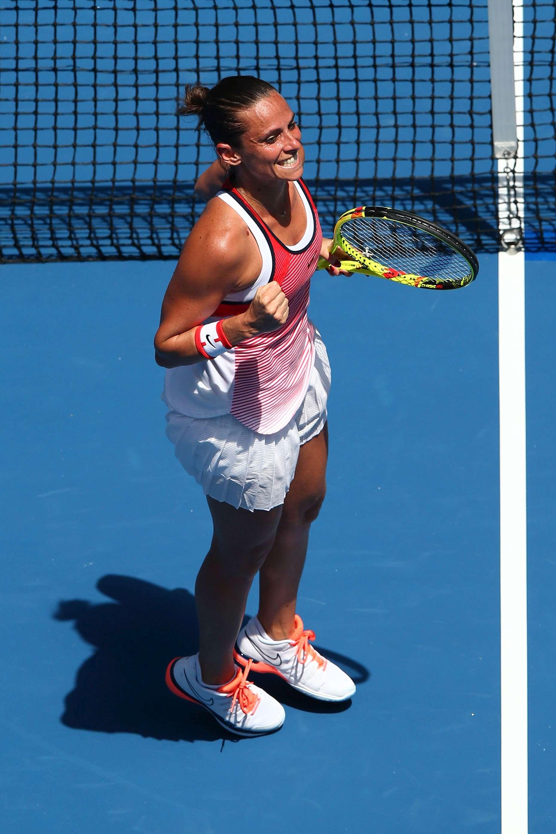 Roberta Vinci, al 3° turno degli Australian Open contro Anna-Lena Friedsam