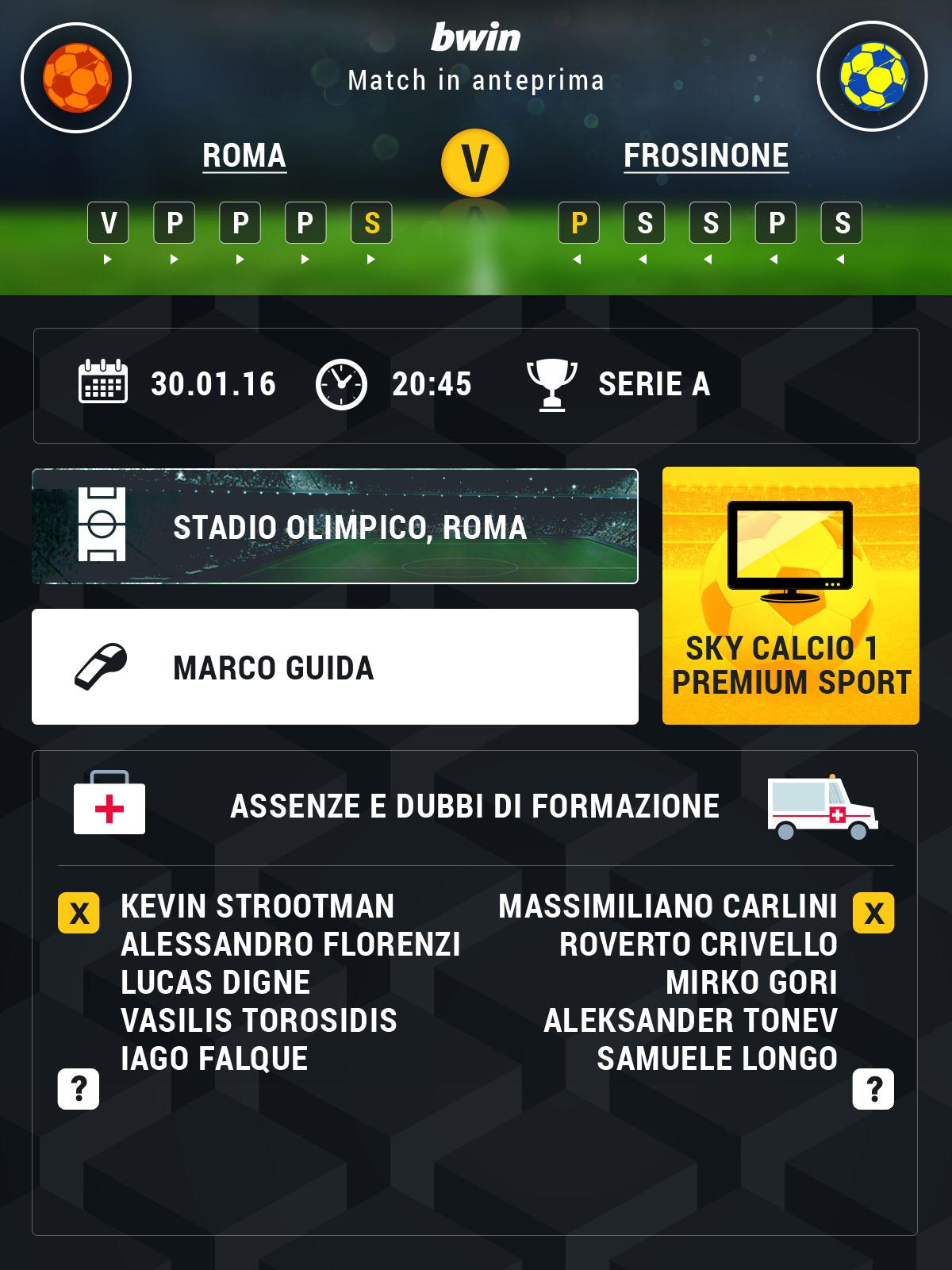 roma-frosinone preview