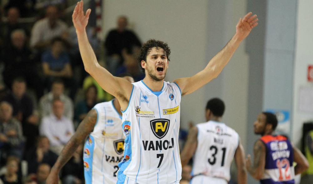 Luca Vitali, nel giro della Vanoli dalla stagione 2012-13