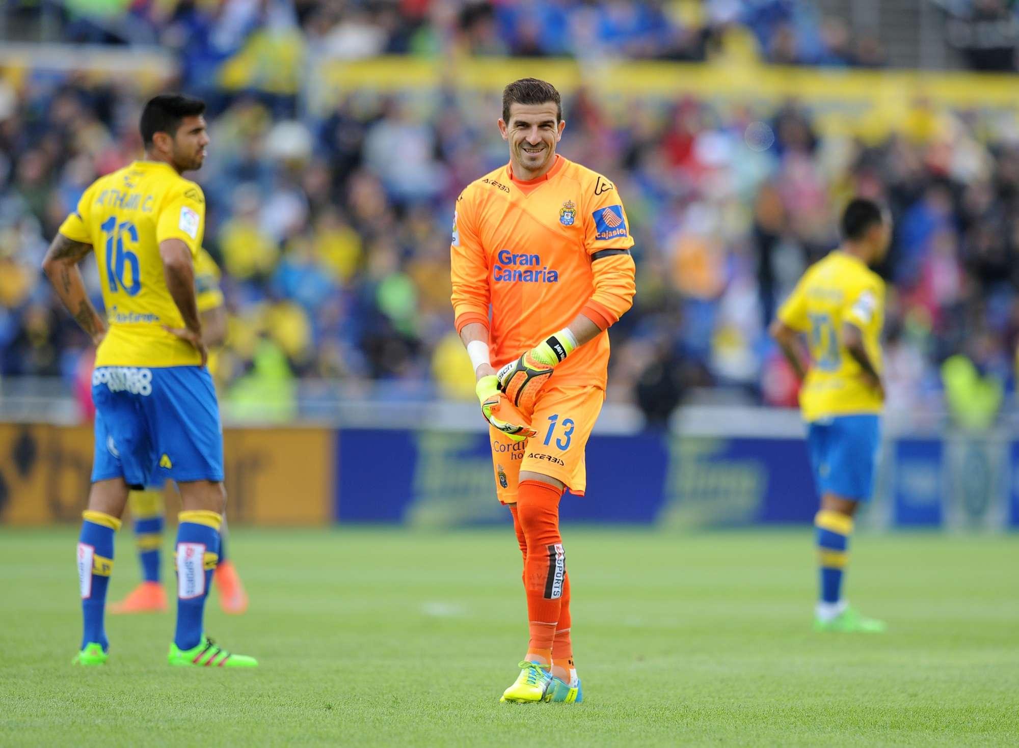 Javi Varas, portiere del Las Palmas, ha subito 40 gol in questa stagione di Liga