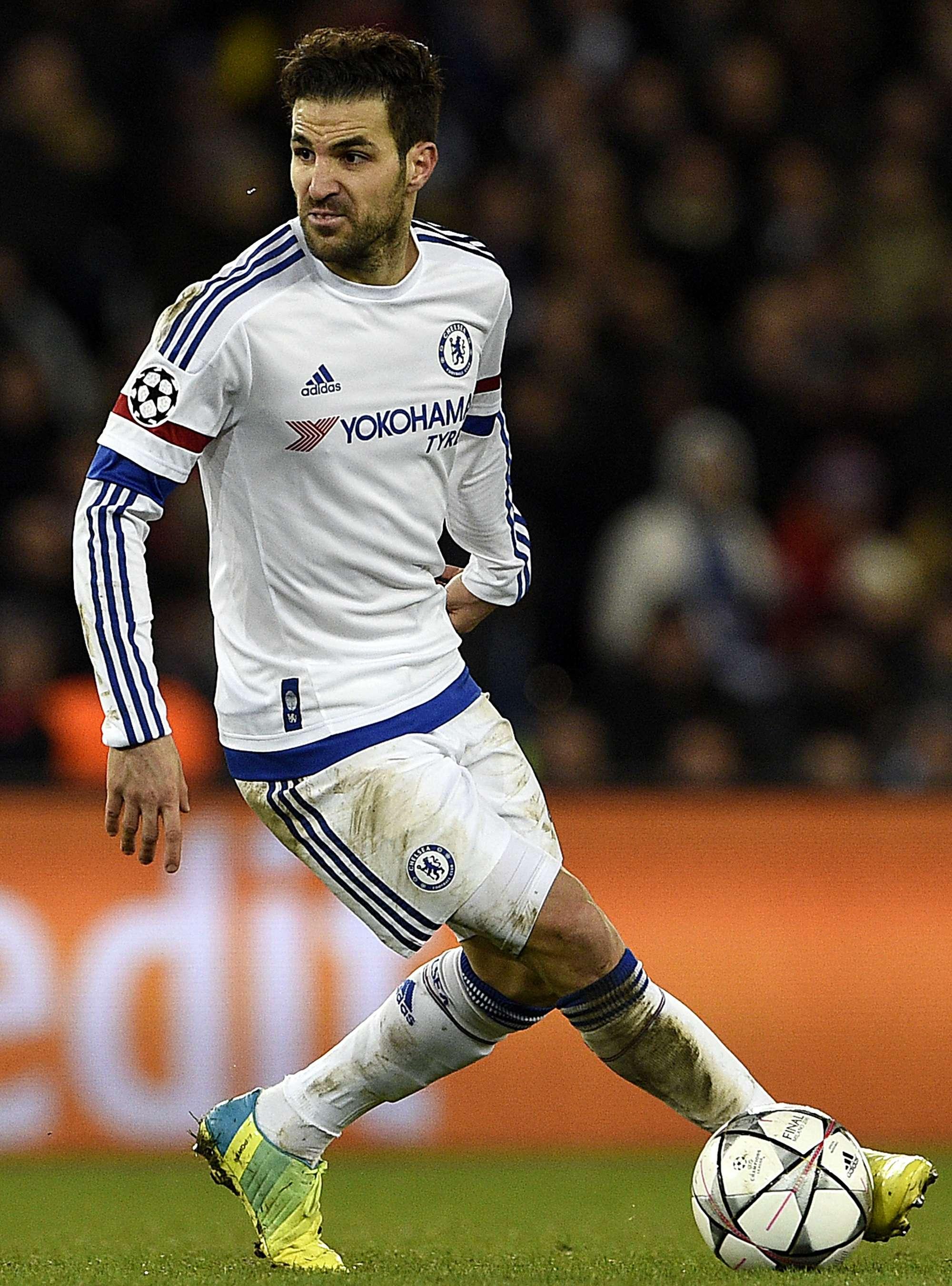 Cesc Fabregas, centrocampista del Chelsea dalla stagione 2014-15