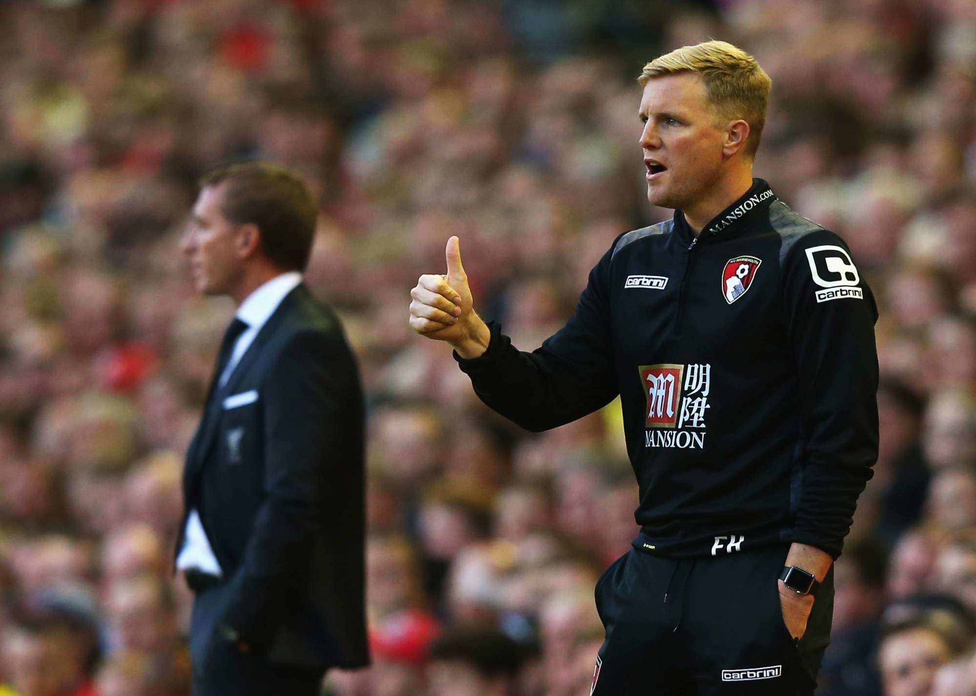 Eddie Howe, tecnico del Bournemouth