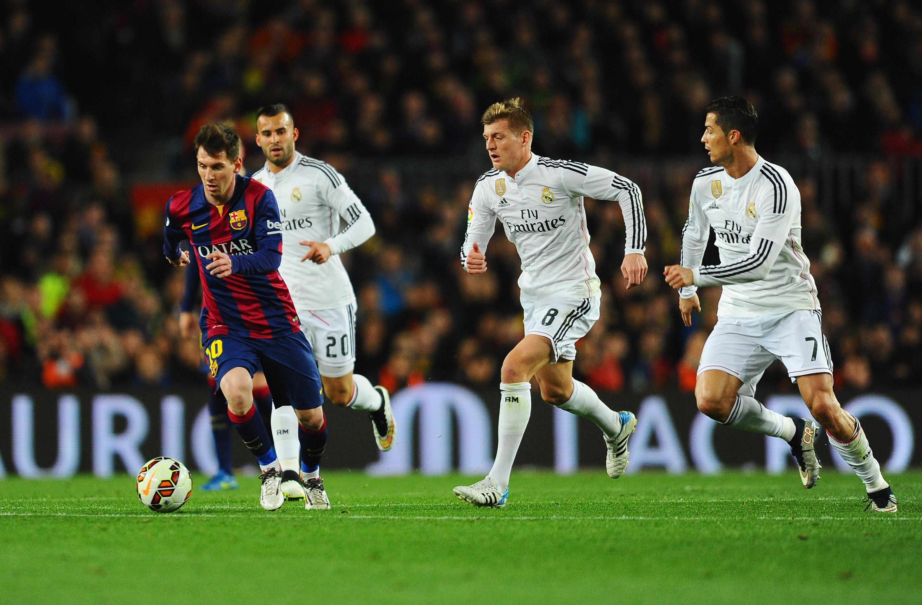 Tempo di Clasico al Camp Nou