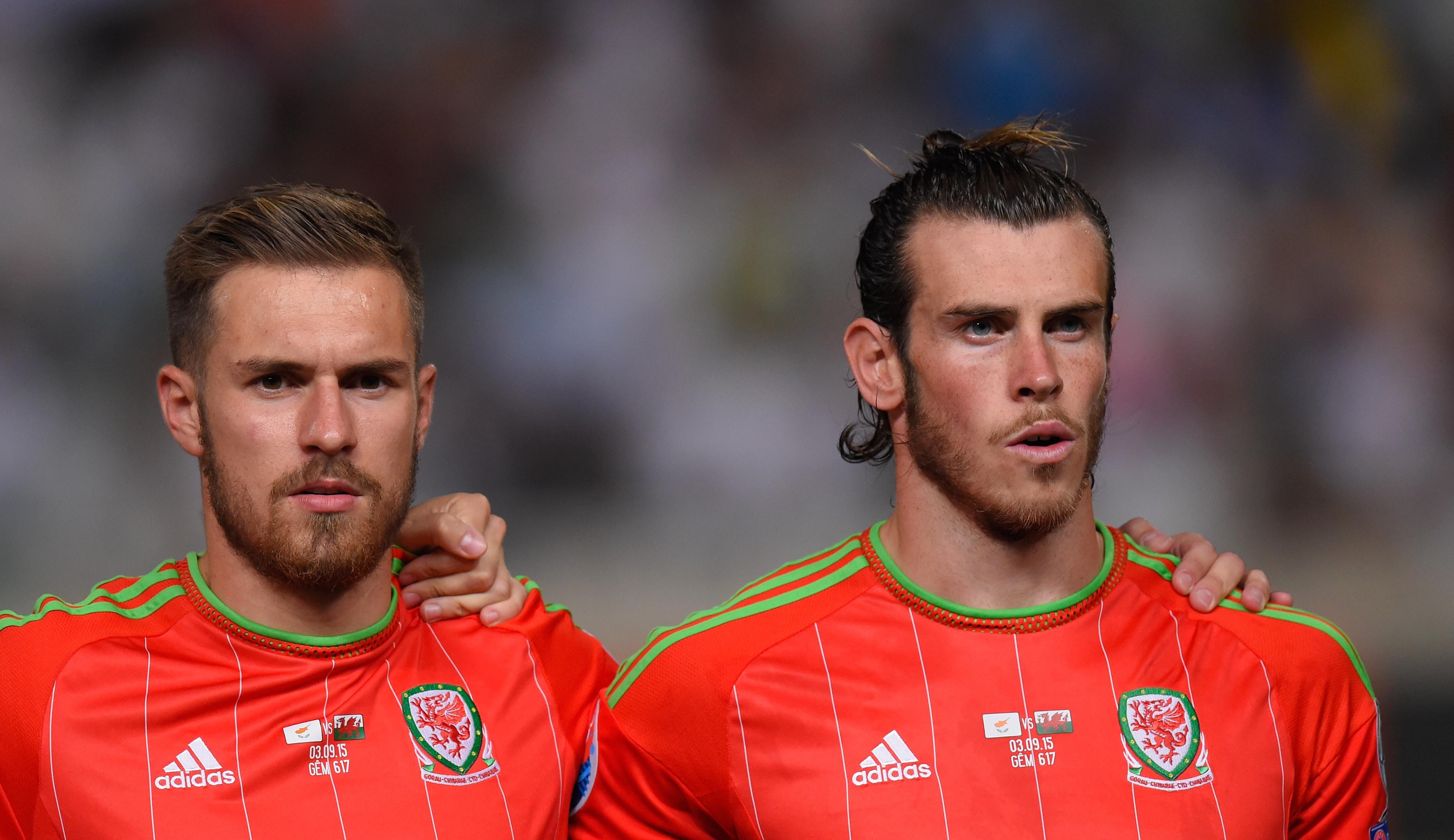 Aaron Ramsey e Gareth Bale, a Cardiff non saranno della partita