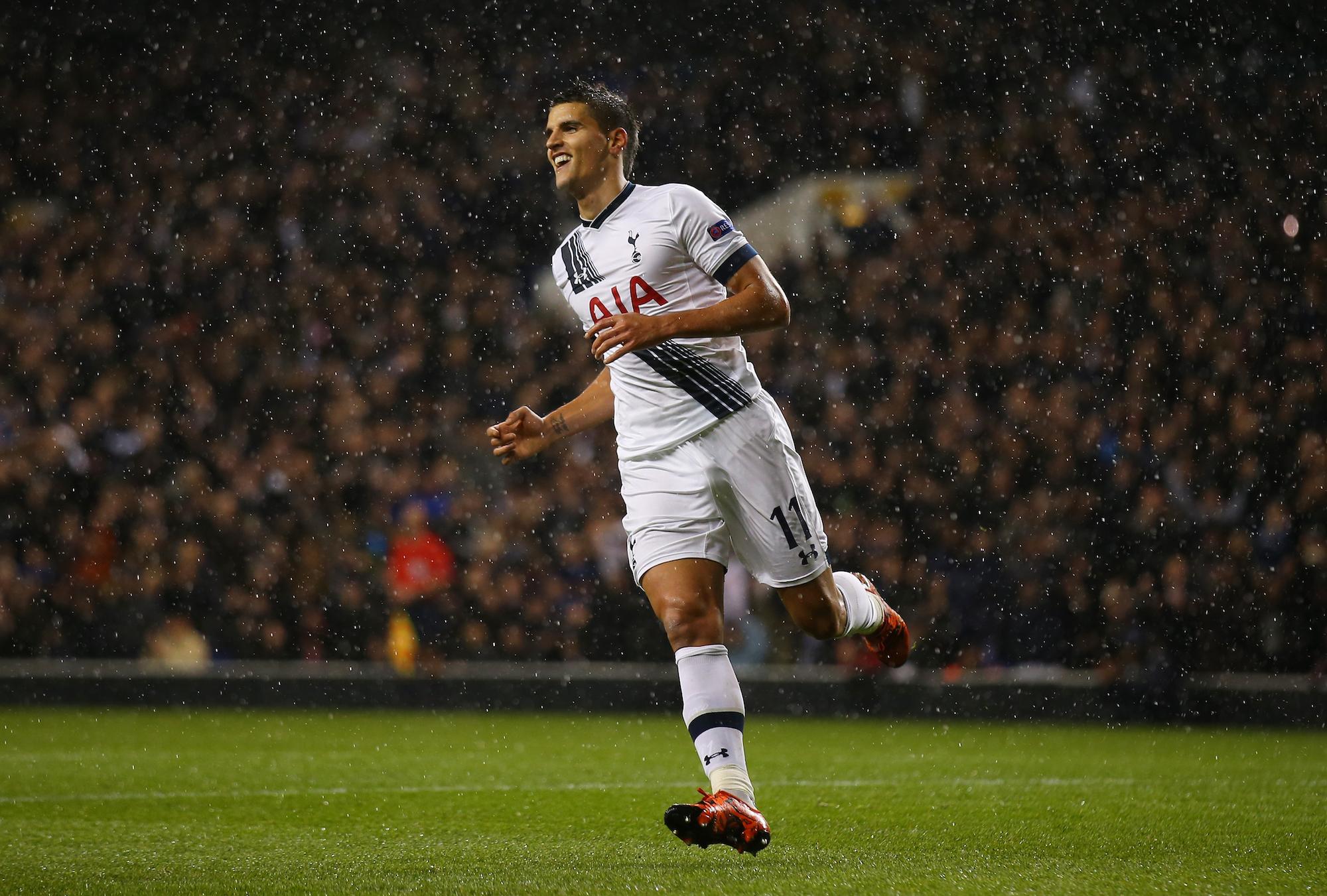 Erik Lamela, 5 gol in quest'edizione di Europa League con il Tottenham