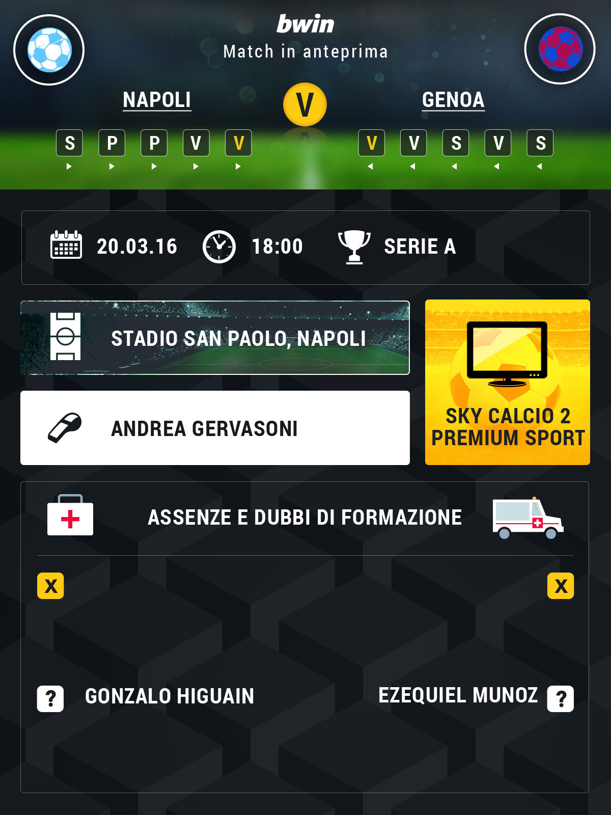 Napoli-Genoa preview