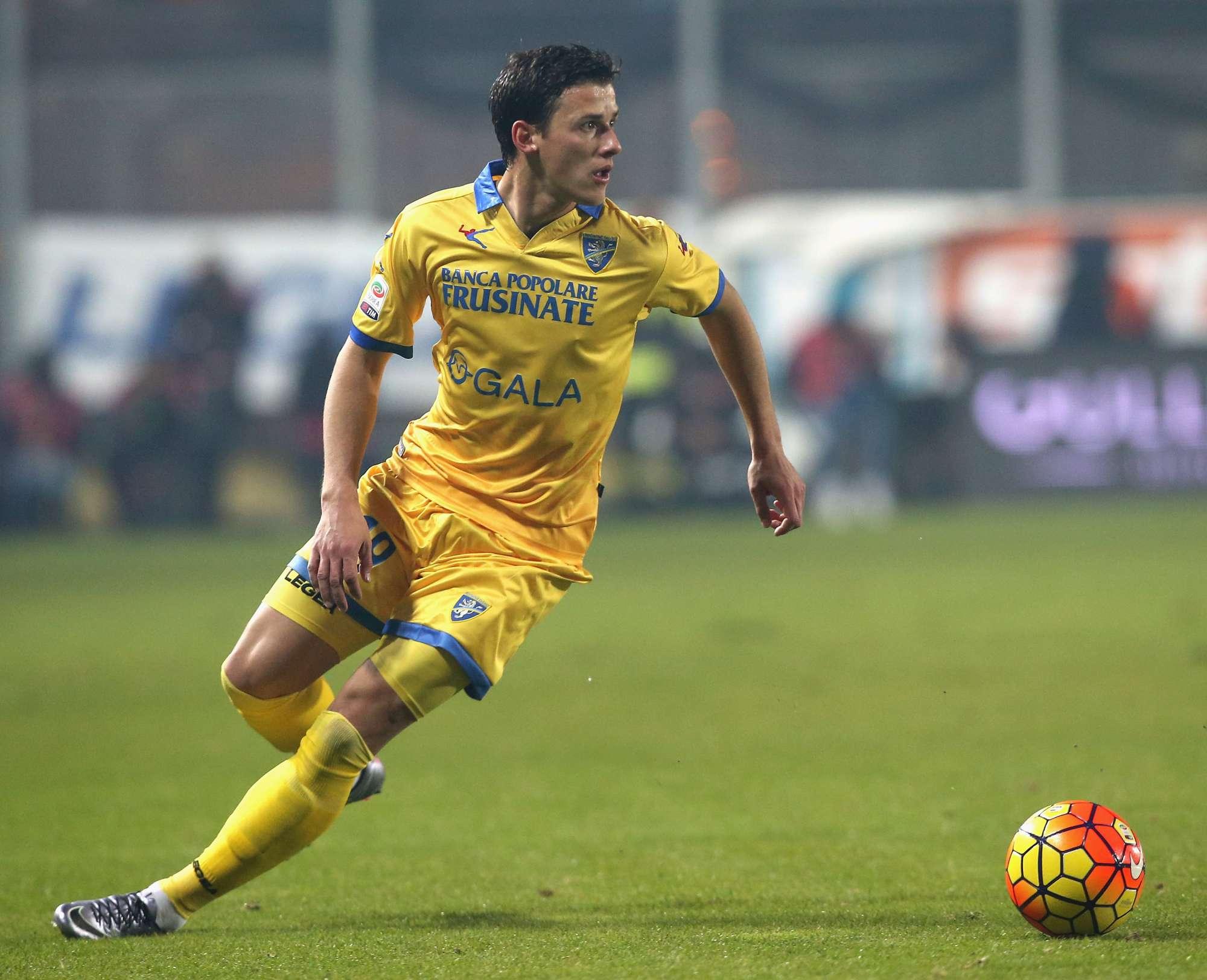 Tonev, centrocampista del Frosinone e della nazionale bulgara