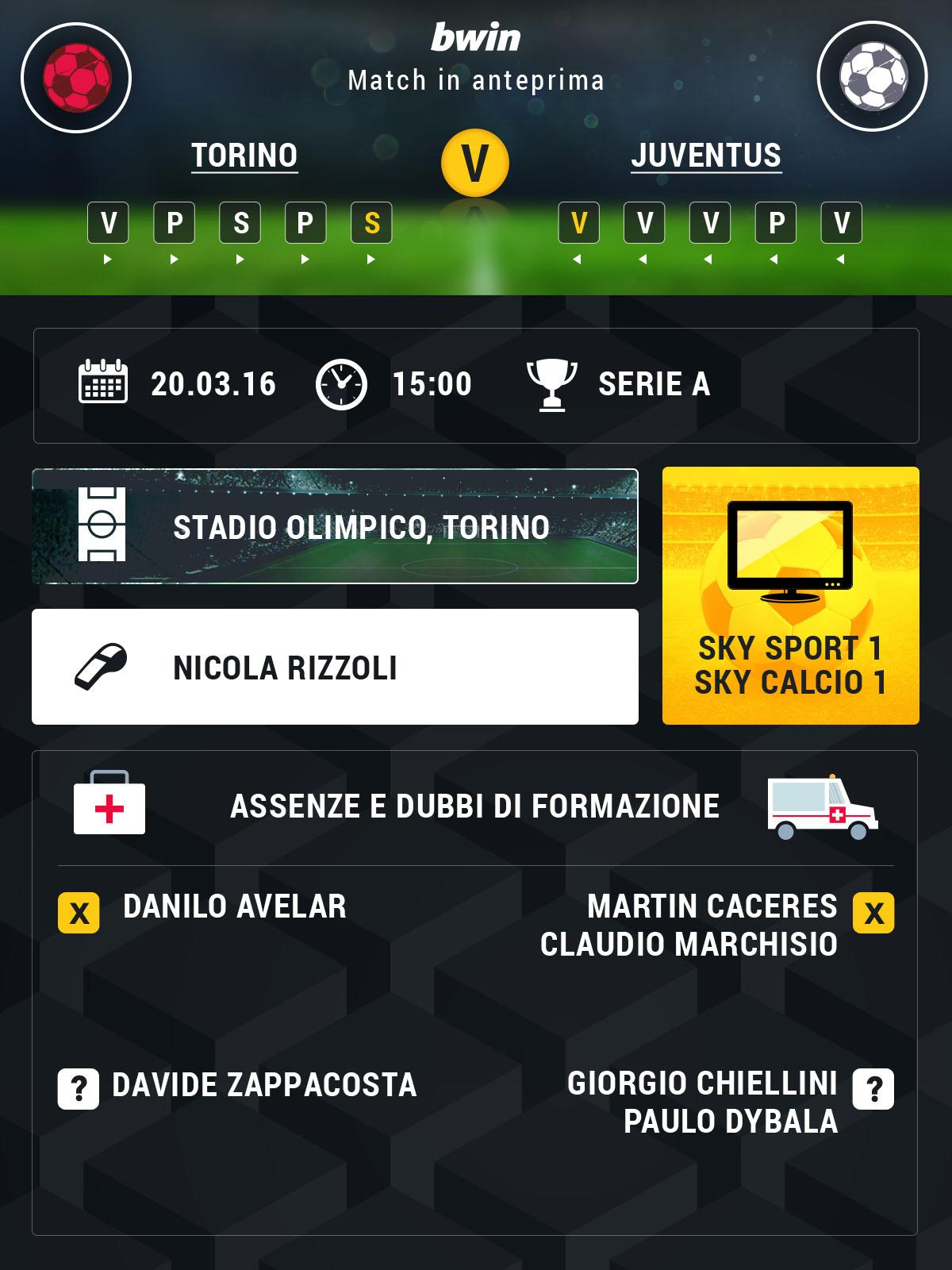 Torino-Juventus preview