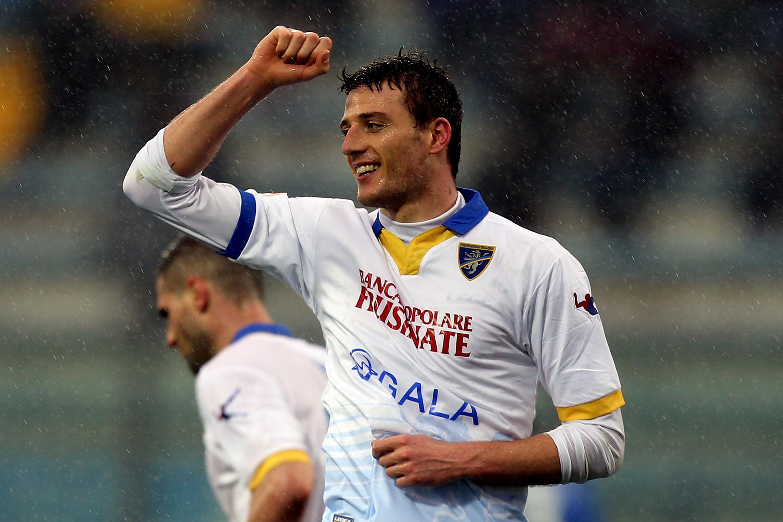 Daniel Ciofani, 8 gol per lui in questa stagione di Serie A con la maglia del Frosinone