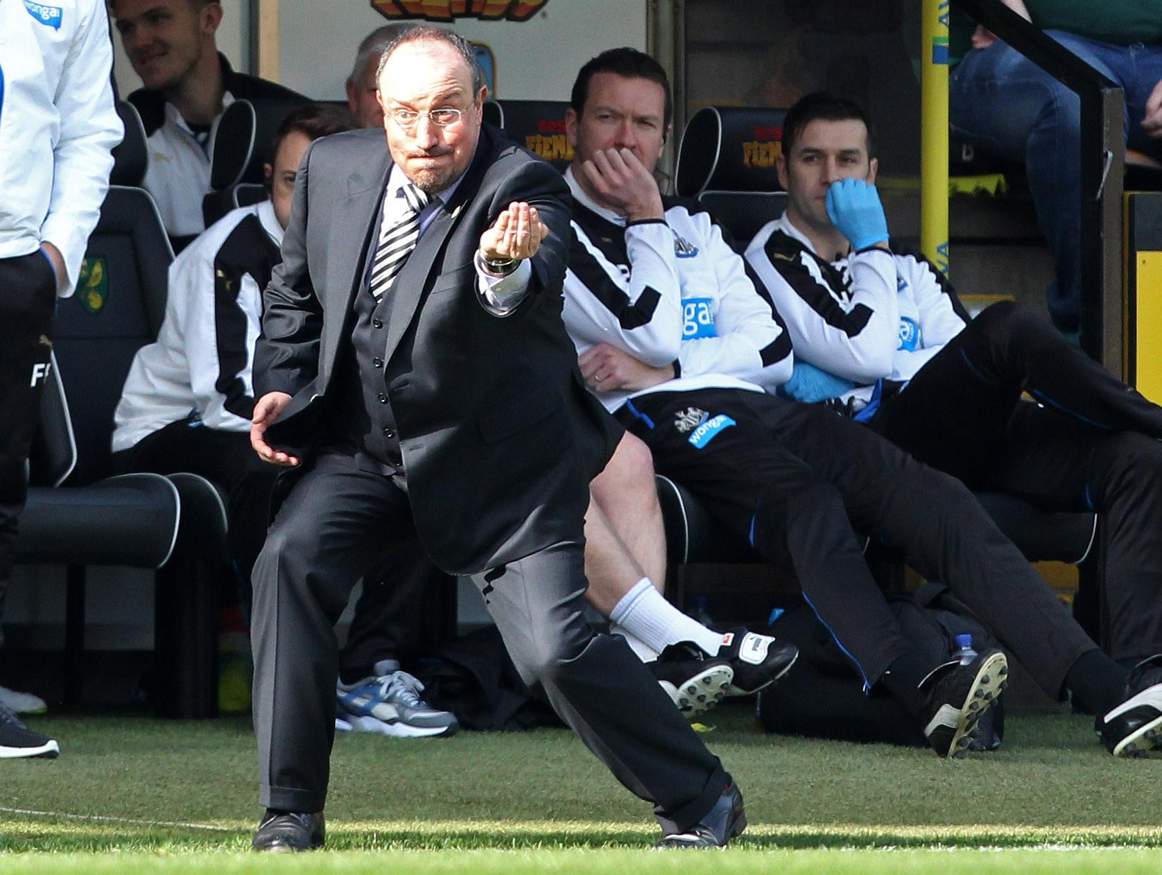 La missione impossibile di Benitez di salvare il Newcastle si sta rivelando per l'appunto... impossibile