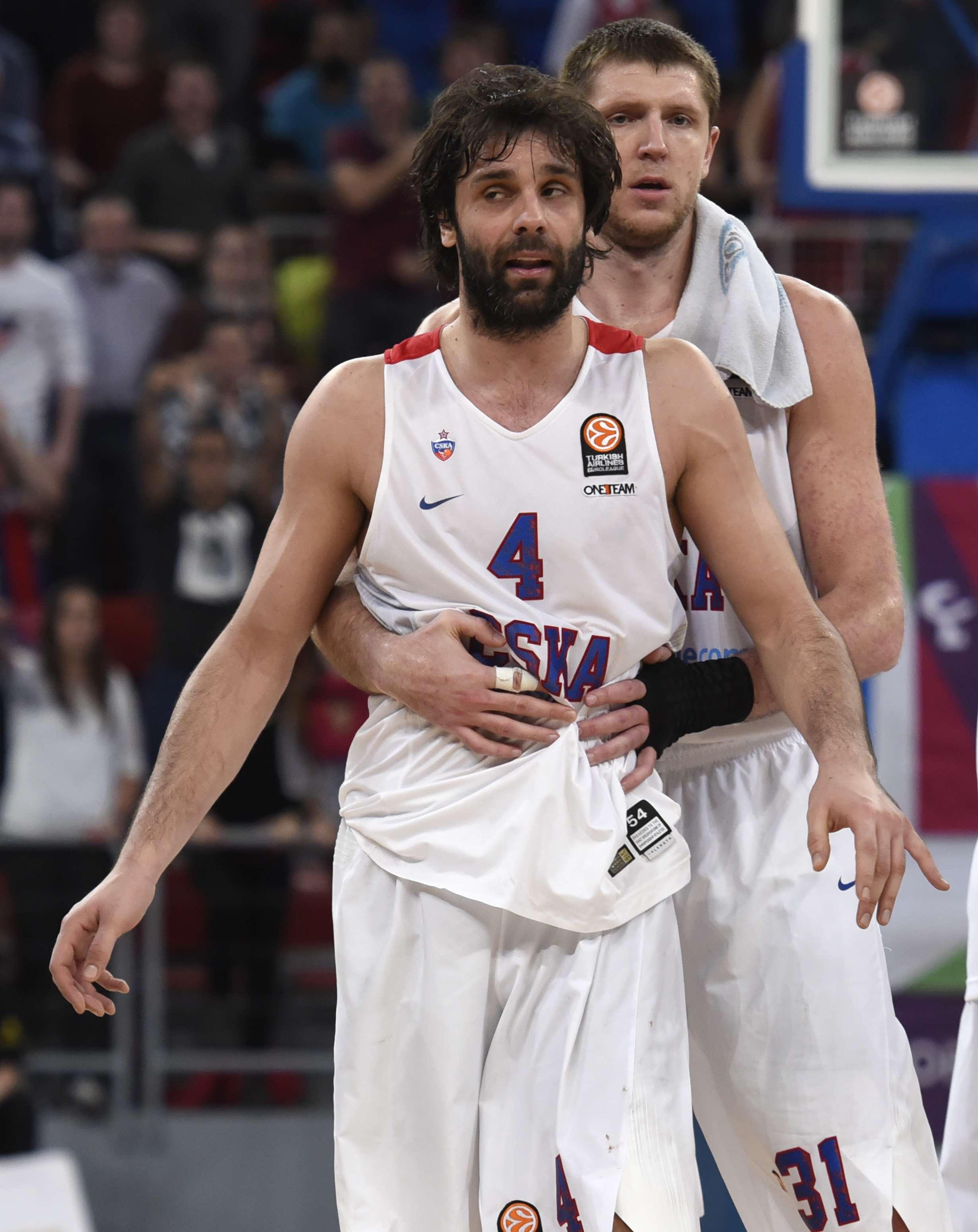 Milos Tedosic, stella del CSKA Mosca e della nazionale serba