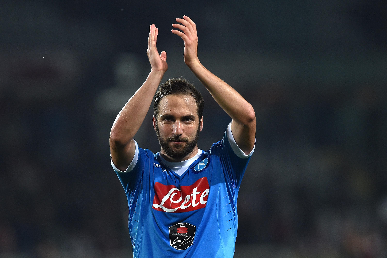 Gonzalo Higuain ha segnato 33 gol in 34 presenze in questo campionato con il Napoli