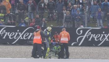 MotoGp, Rossi k.o. ad Assen: addio titolo?